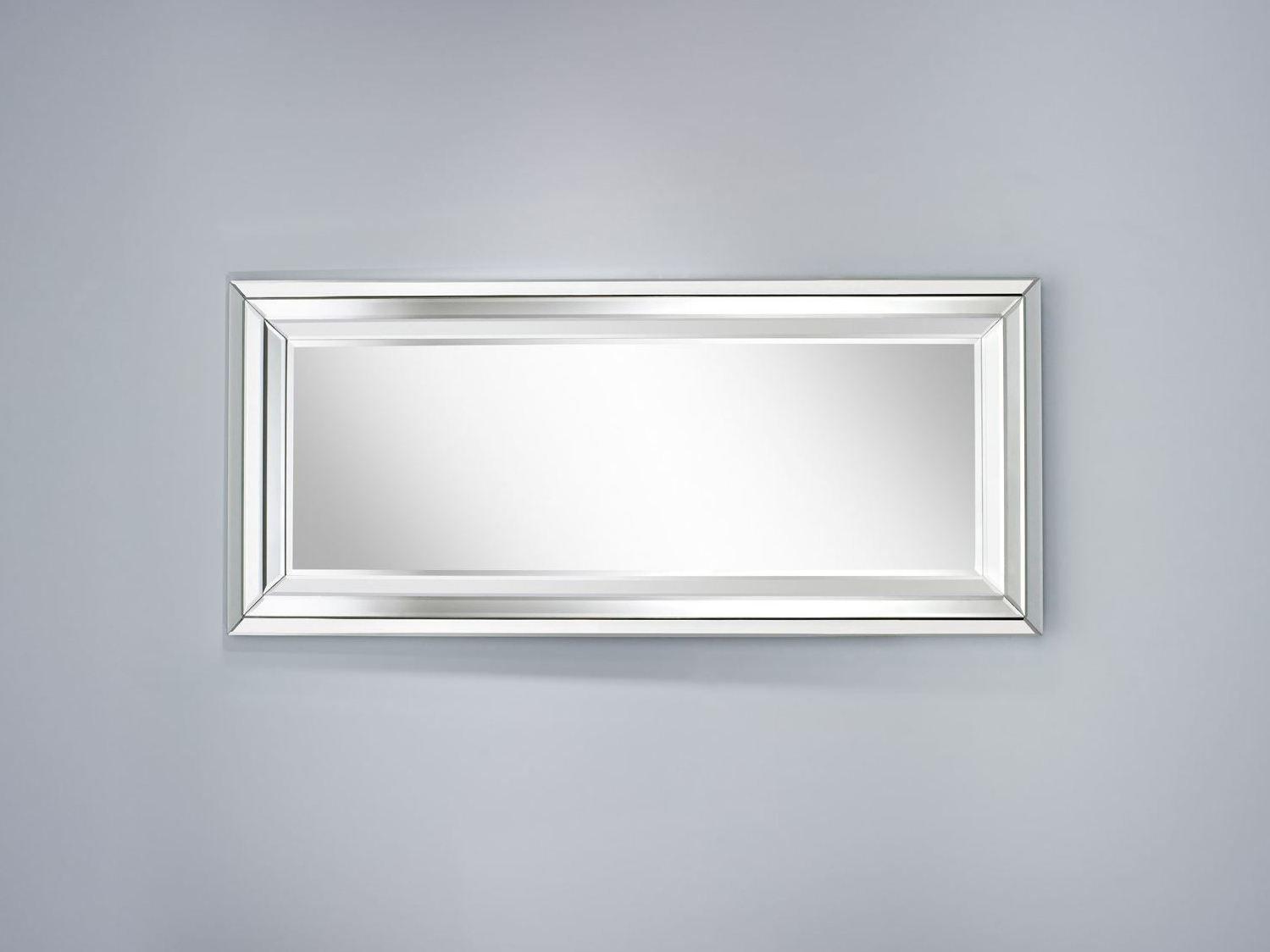 Specchio Rettangolare A Parete Con Cornice Bright L By