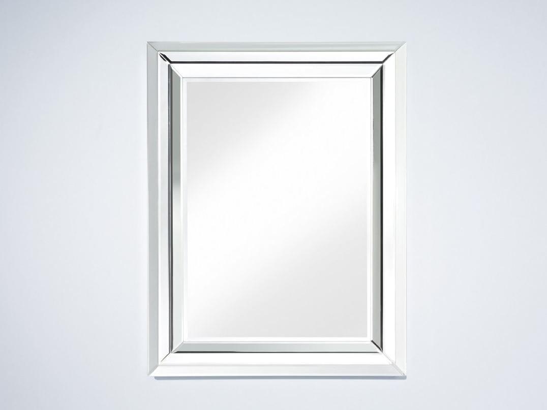 Specchio Rettangolare A Parete Con Cornice Bright By