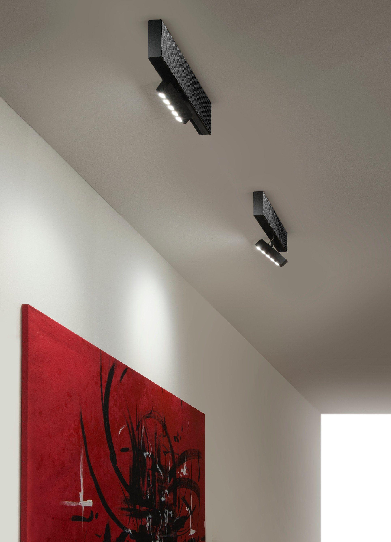 plafonnier led sur rails brooklyn spot by panzeri design. Black Bedroom Furniture Sets. Home Design Ideas
