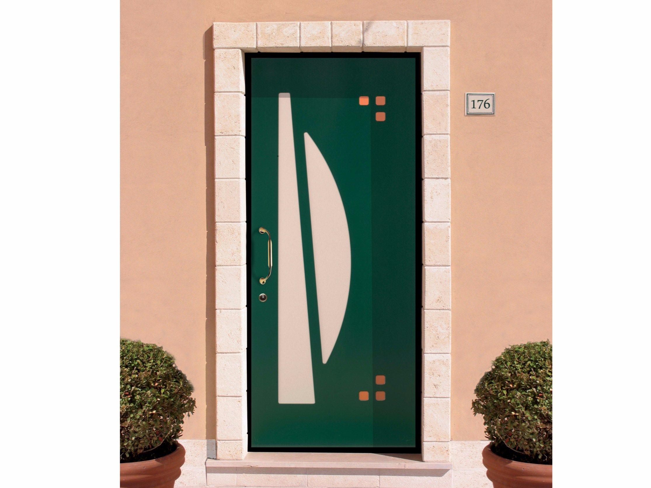 Pannello di rivestimento per porte blindate in pvc bruce - Pannello decorativo per porte ...