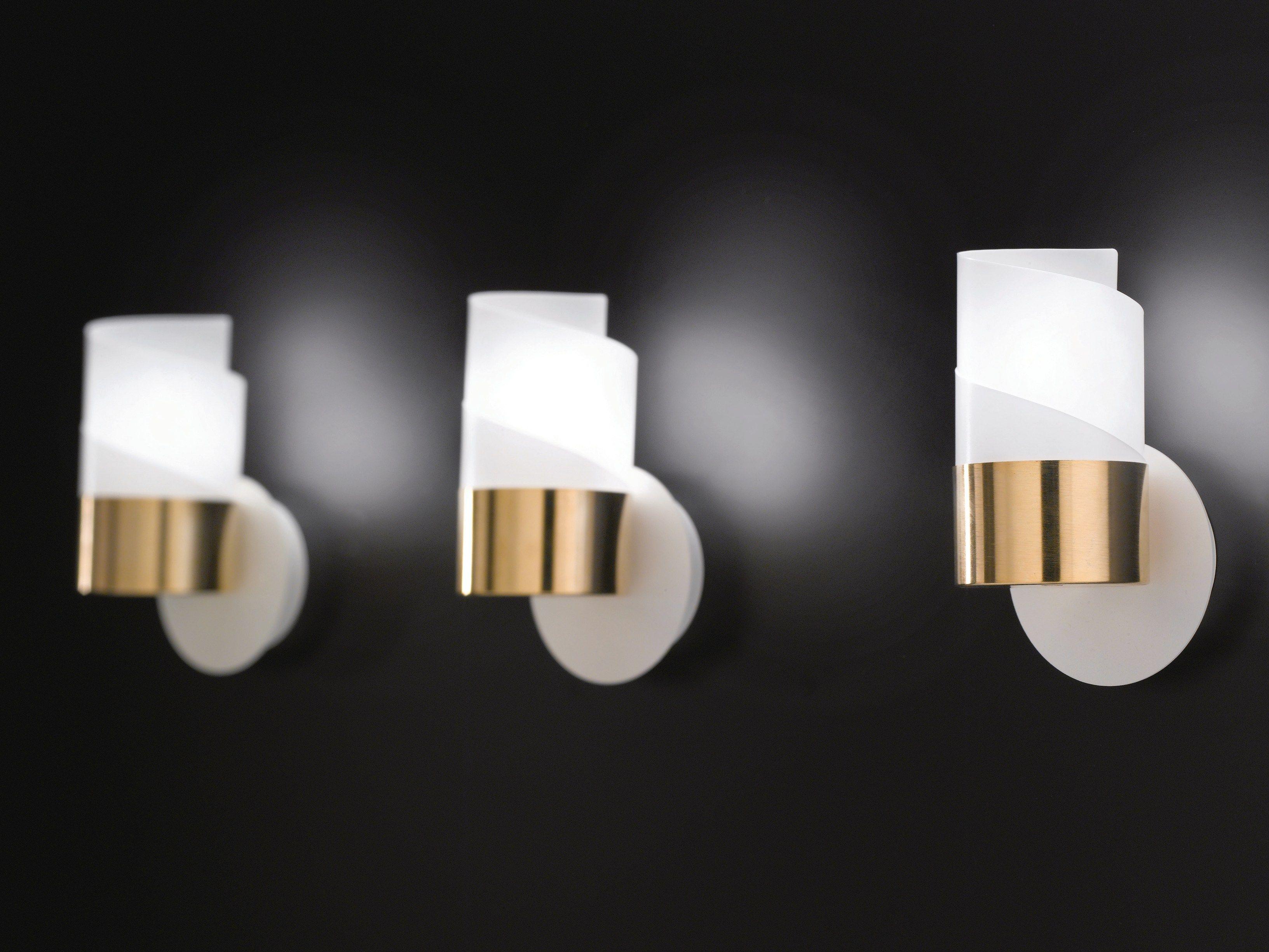 Lampade parete design comu fatta una lampada da parete a - Lampade a parete design ...