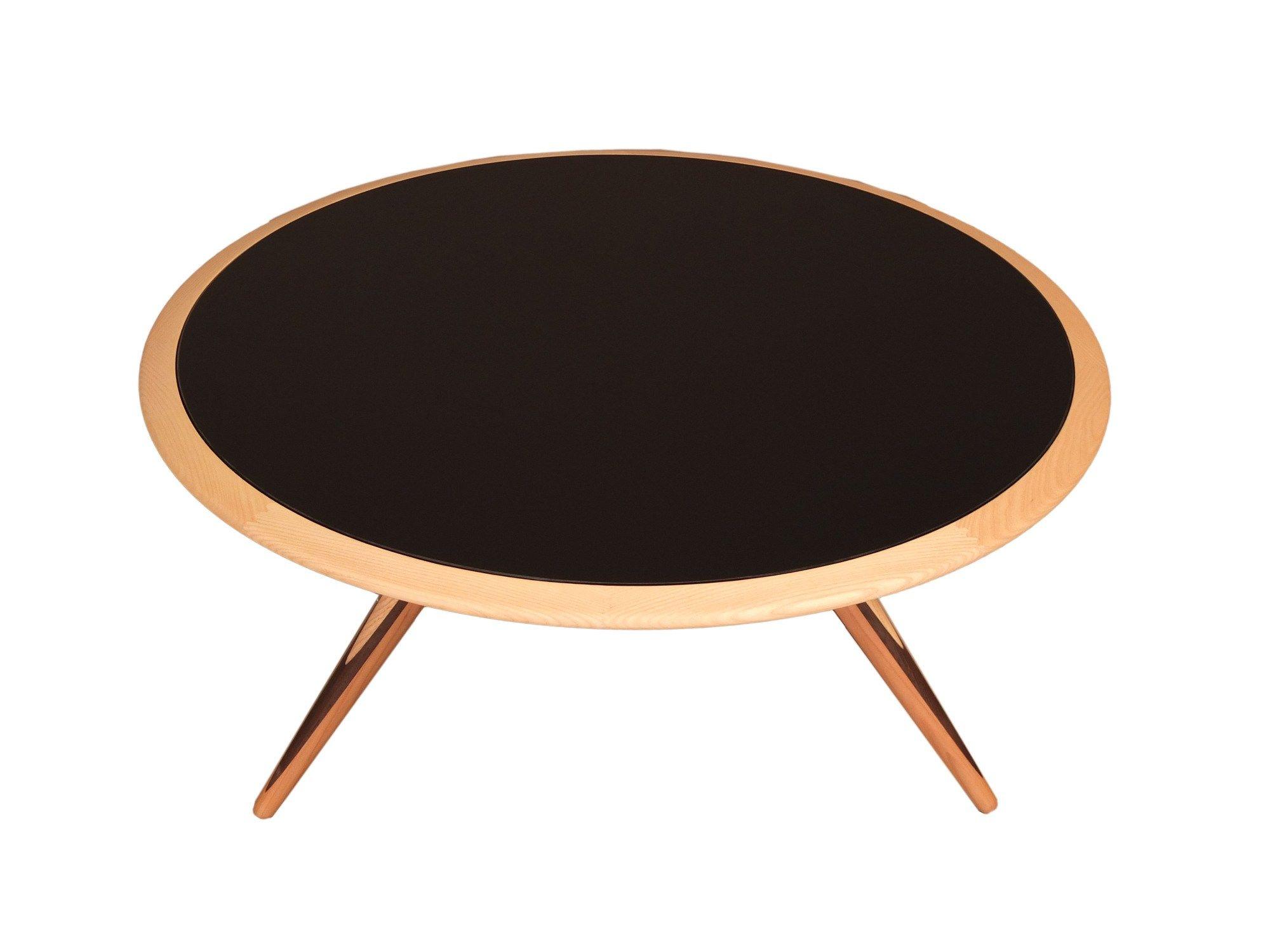 Tavolino Rotondo Legno Essenza Bim : Carambola tavolino basso by morelato design maurizio duranti