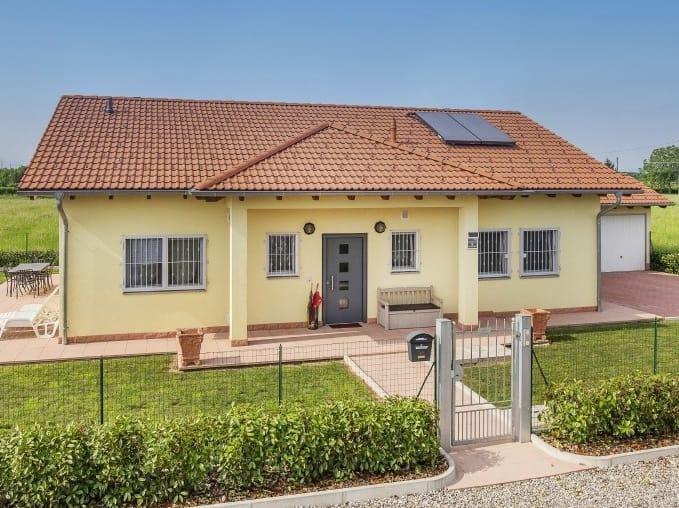 Casa de madera CASA MIA 103 by Spazio Positivo by Rensch-Haus