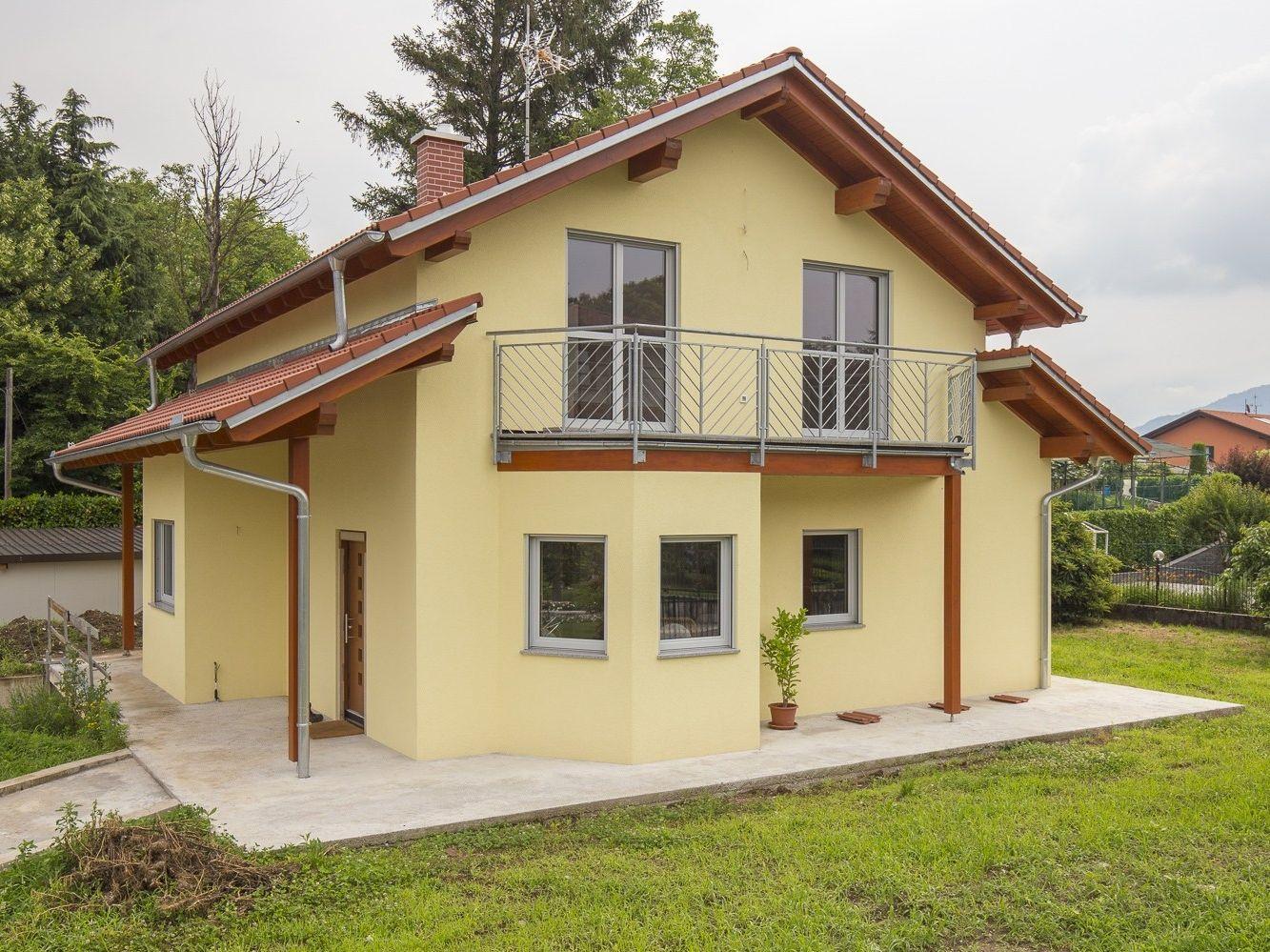 Casa prefabbricata in legno casa mia 136 by spazio for Prefabbricati abitativi