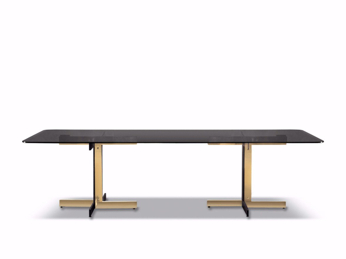 Table catlin dining table by minotti design rodolfo dordoni for Html table in table