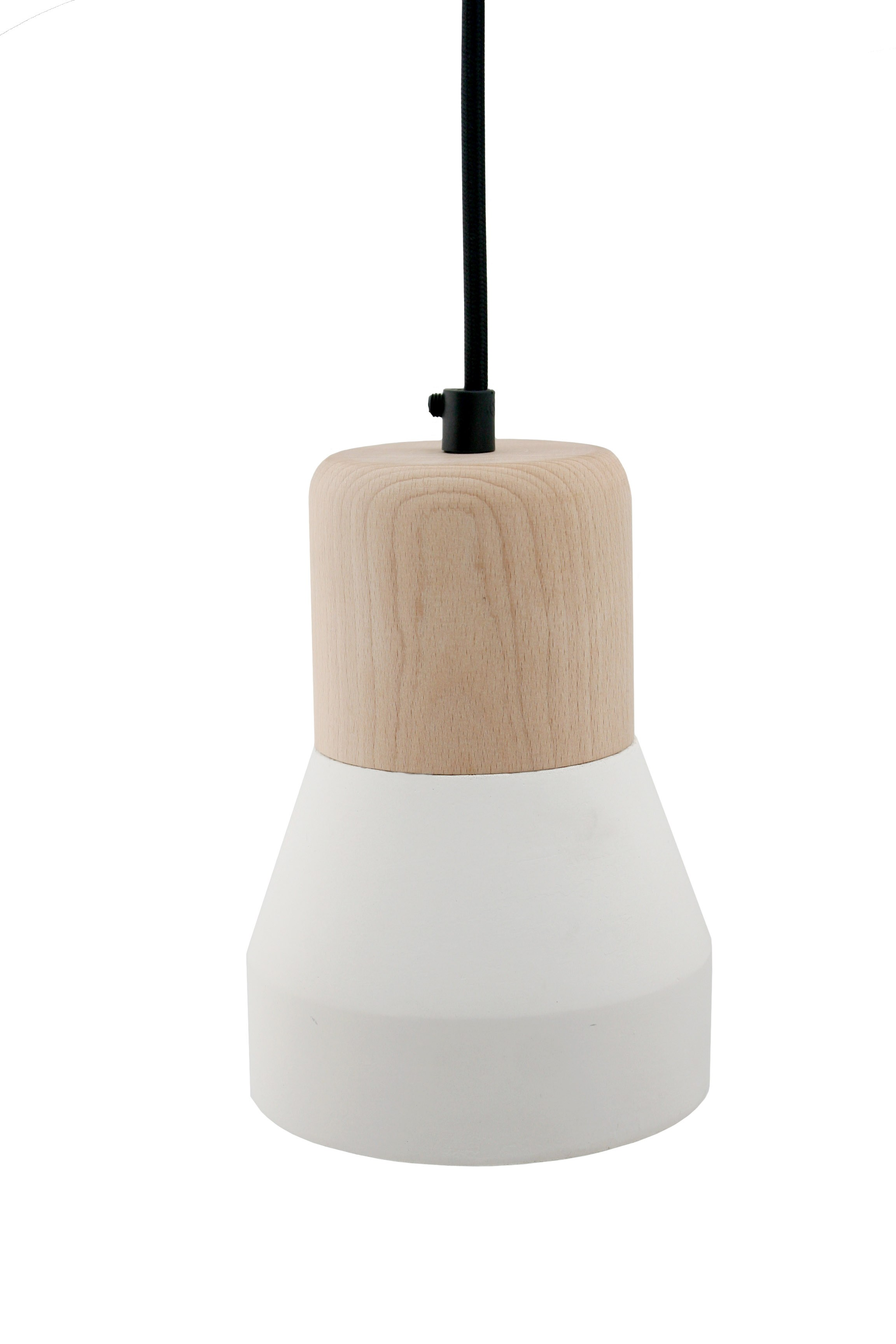 lumin ria pendente de cimento cement wood lamp by specimen. Black Bedroom Furniture Sets. Home Design Ideas