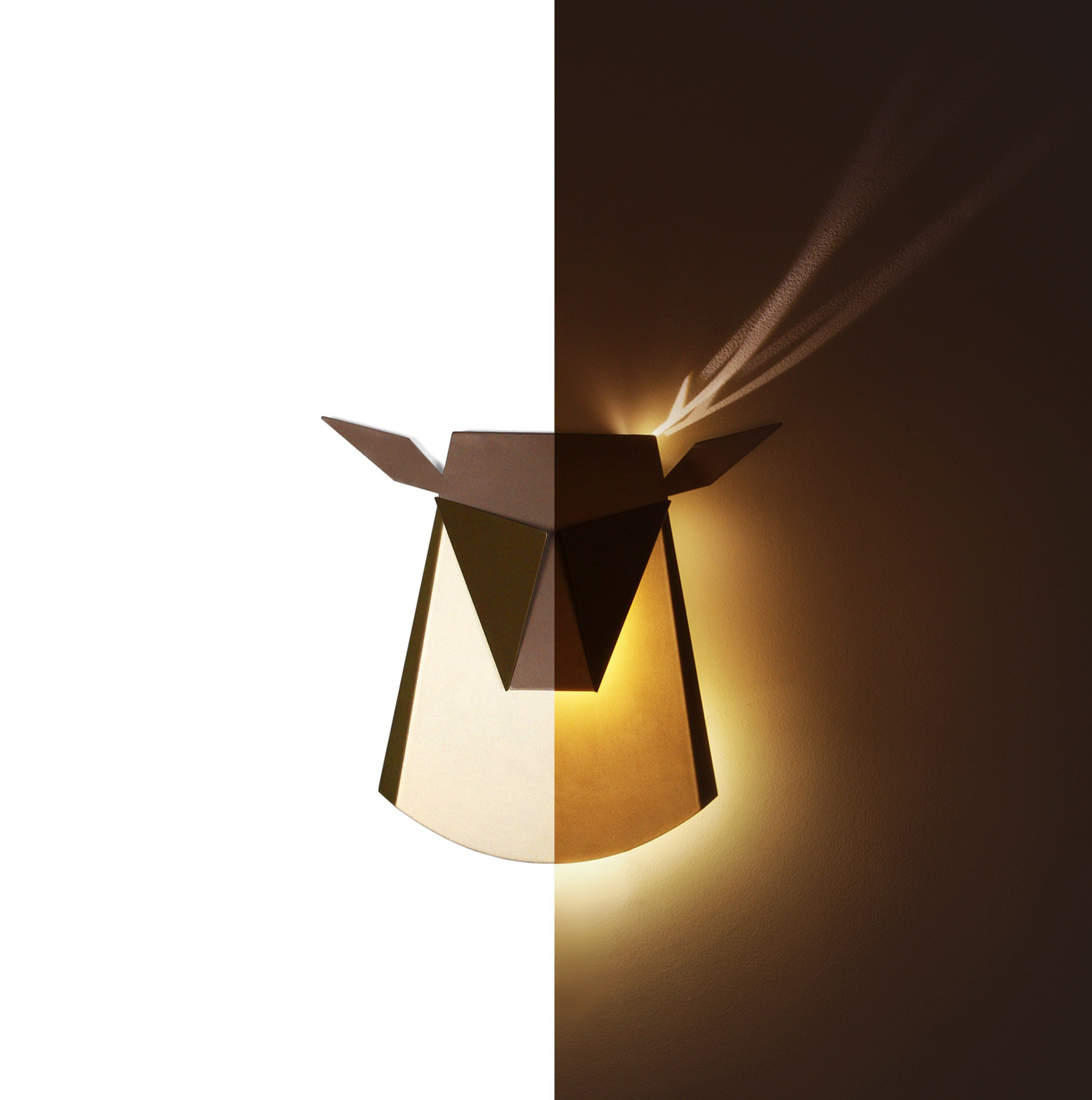LED indirect light wall light CERF by Compagnie design ...