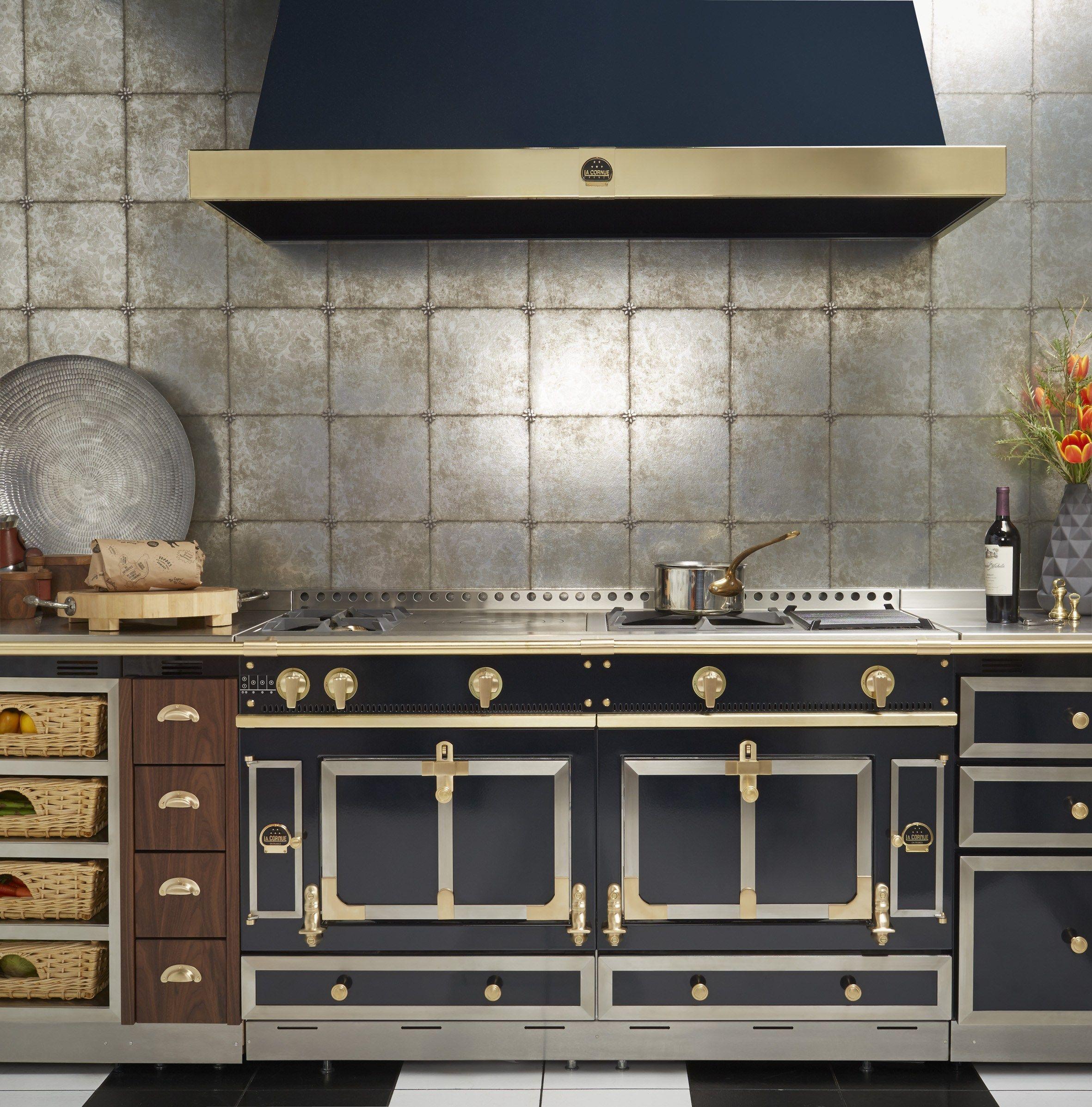 Stainless steel cooker ch teau 150 by la cornue - La cornue cuisiniere prix ...
