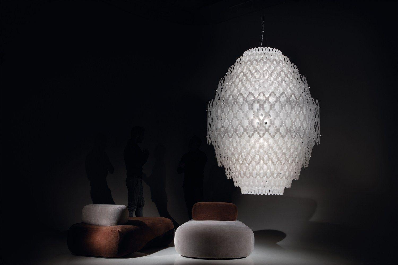 Lampada a sospensione a led charlotte by slamp design for Lampade slamp prezzi