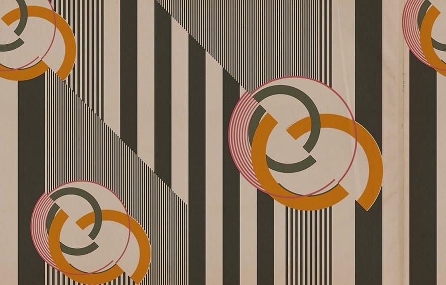 Papel pintado pop art con motivos cherry bomb colecci n for Papel pintado art deco