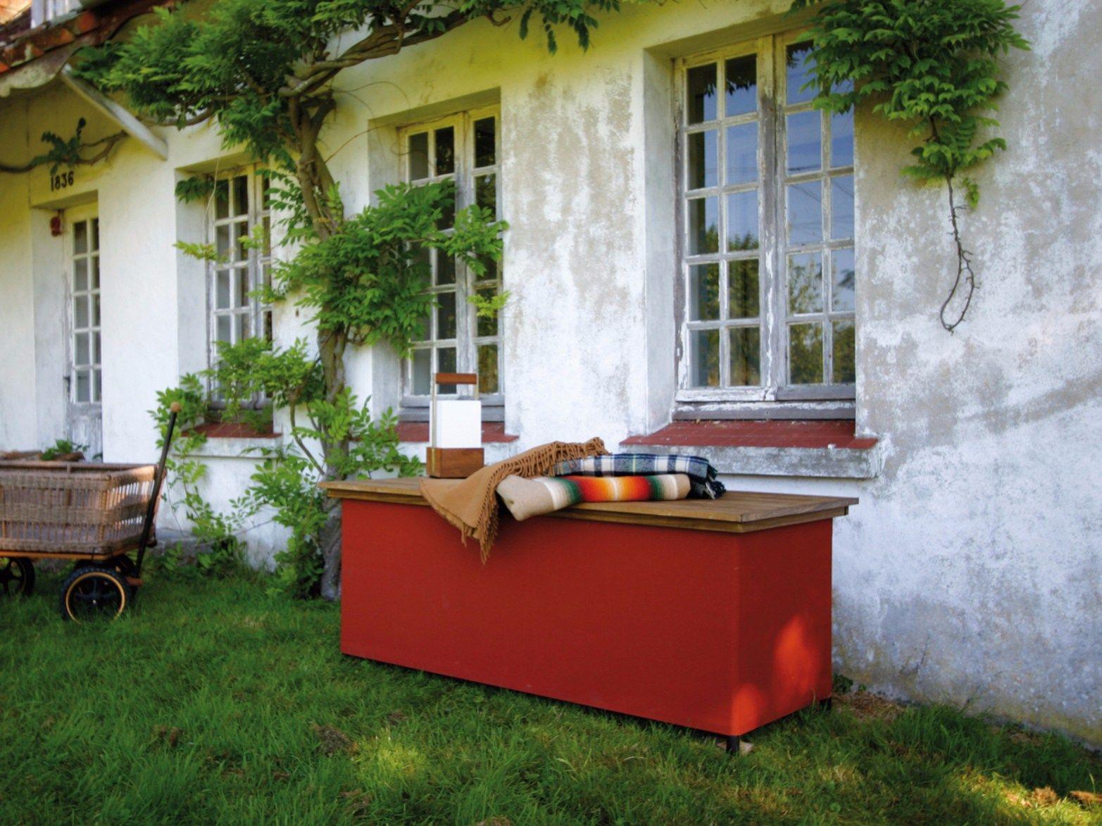 banc de jardin avec coffre de rangement chest 39 r by tradewinds. Black Bedroom Furniture Sets. Home Design Ideas