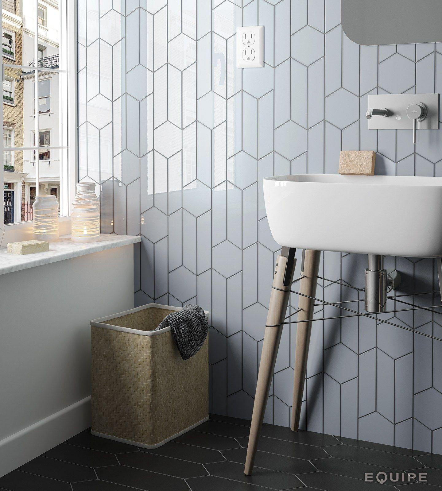 Chevron wall wall tiles by equipe ceramicas - Equipe ceramicas ...