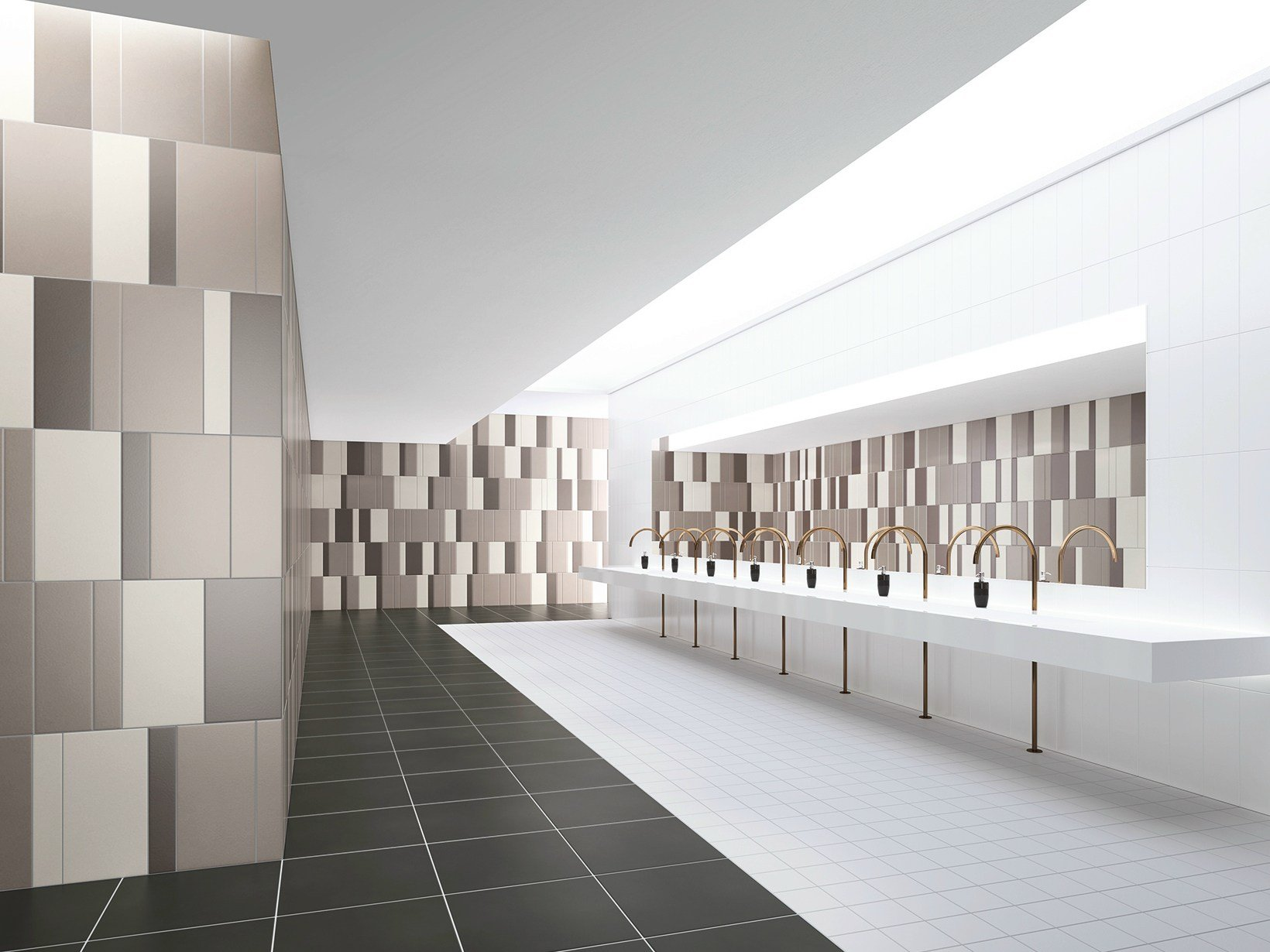 ceramic wall floor tiles chromaplural by agrob buchtal