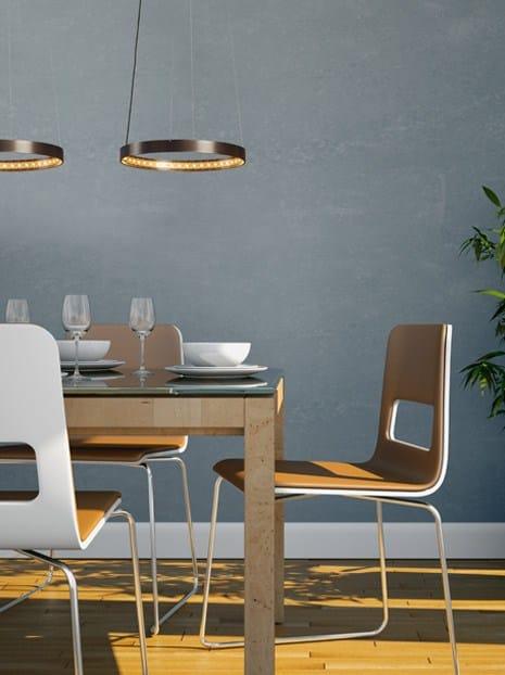 led direct indirect light pendant lamp circle 30 le deun luminaires. Black Bedroom Furniture Sets. Home Design Ideas