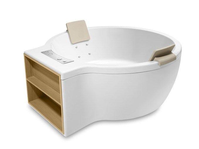 Bañera independiente circular by roca sanitario