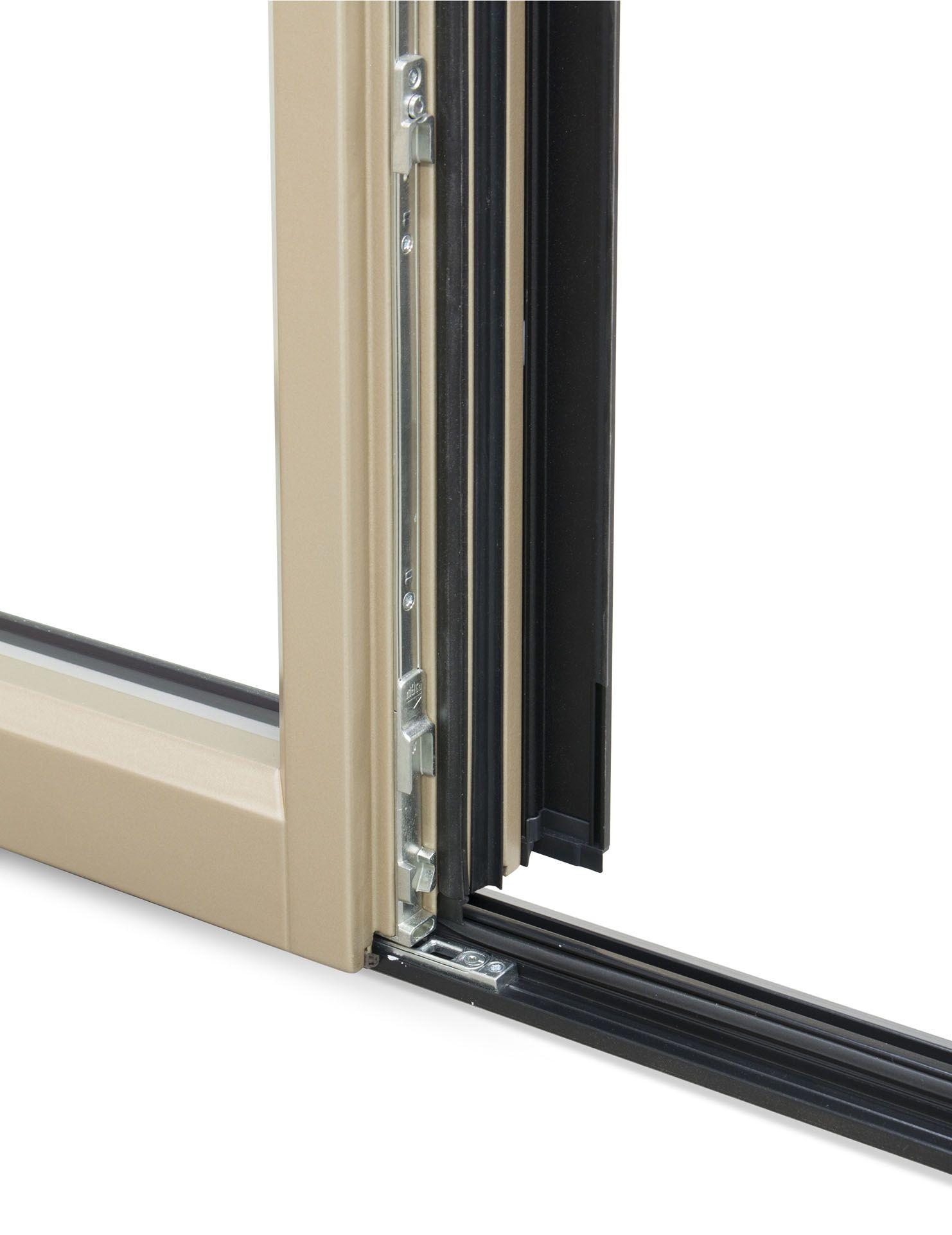 City porta finestra scorrevole by navello - Porta scorrevole alluminio ...