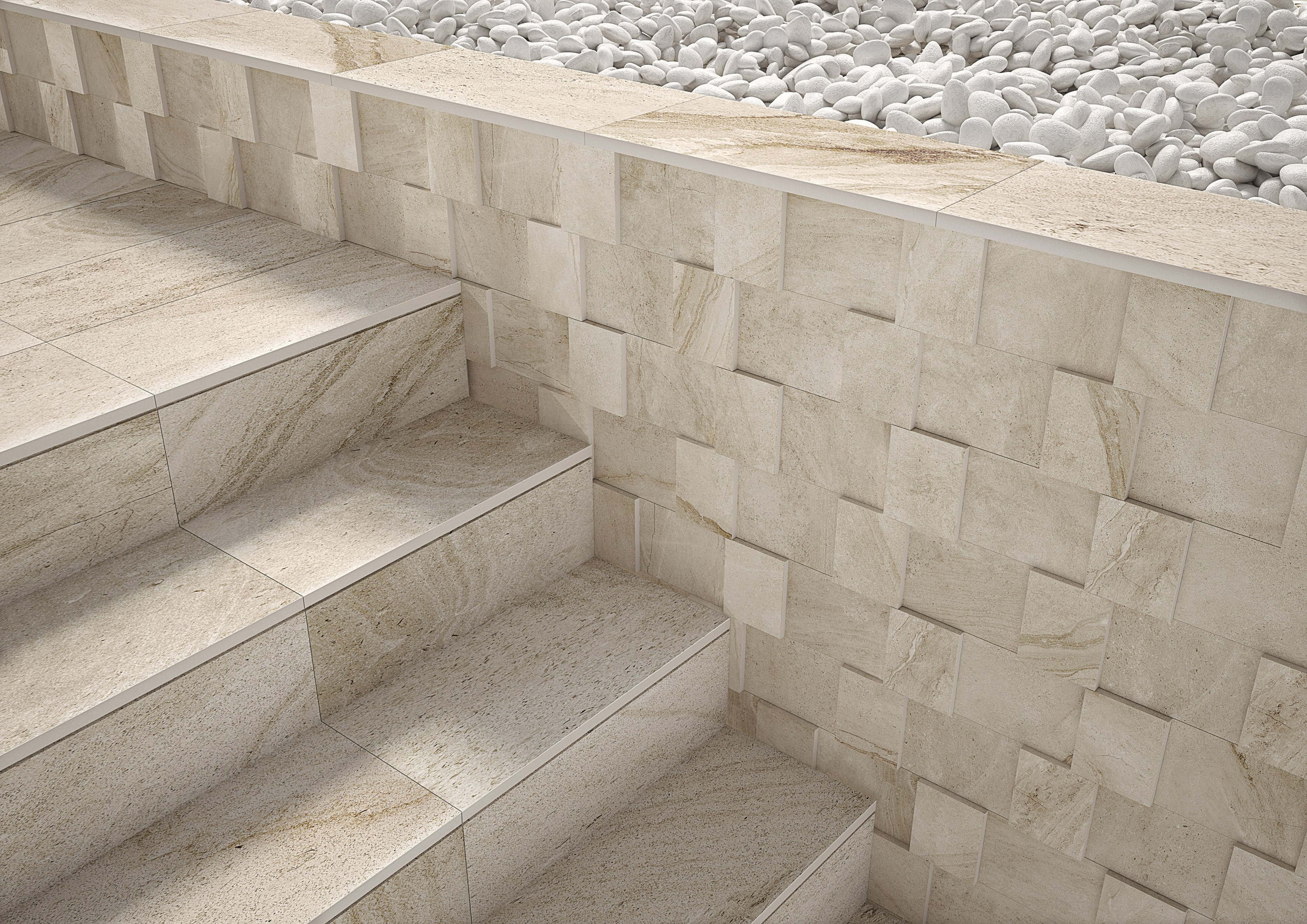 Pavimento in gres porcellanato per interni ed esterni for Pavimenti 3d prezzi