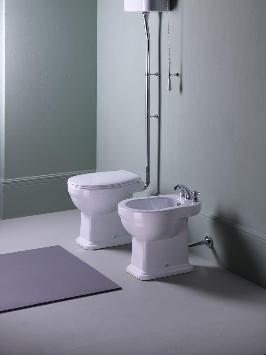 Classic 54 toilet by gsi ceramica for Gsi sanitari