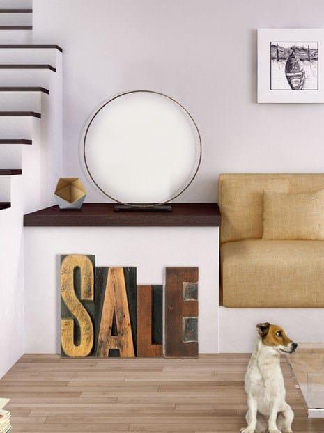 lampe de table led pour clairage direct indirect classic. Black Bedroom Furniture Sets. Home Design Ideas