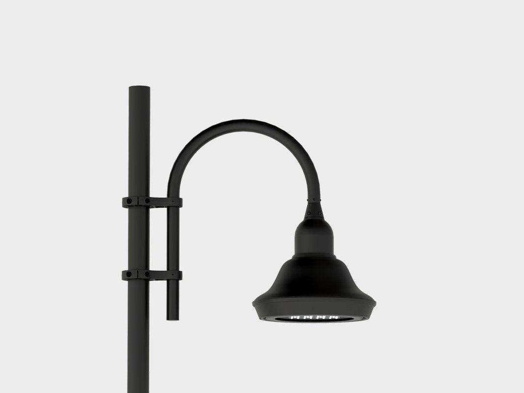 Lampione da giardino a led in alluminio classic for Lampioni da giardino a led