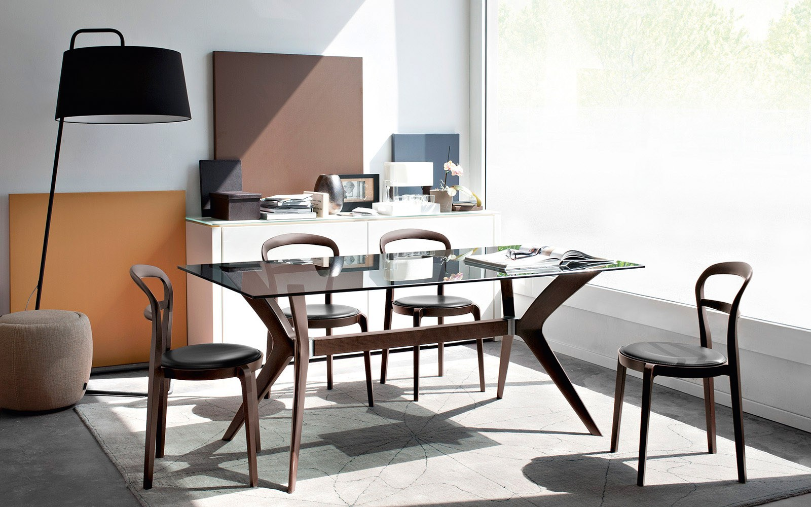 Cloe by calligaris for Tavolo vero calligaris