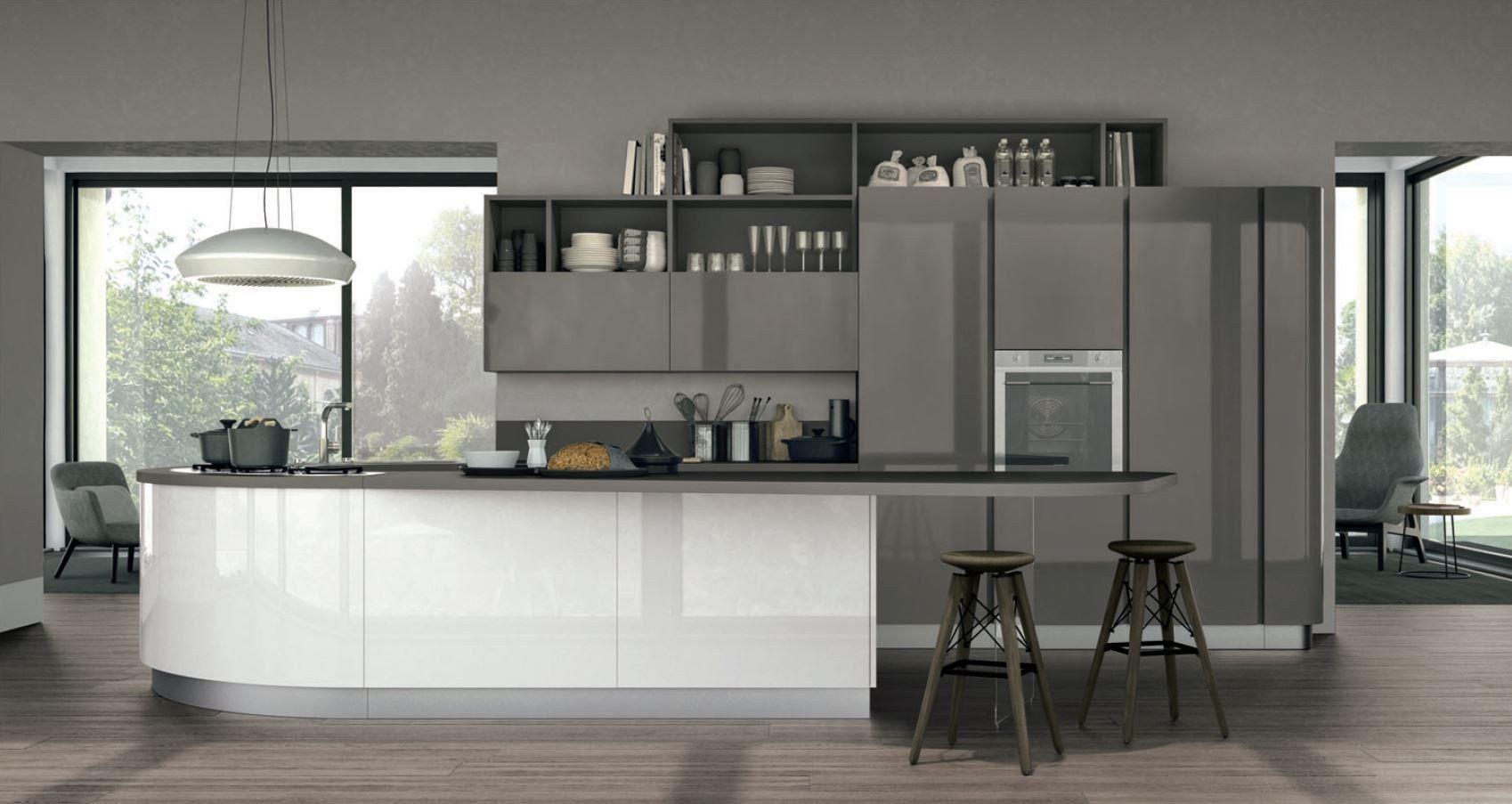 clover 01 by cucine lube. Black Bedroom Furniture Sets. Home Design Ideas