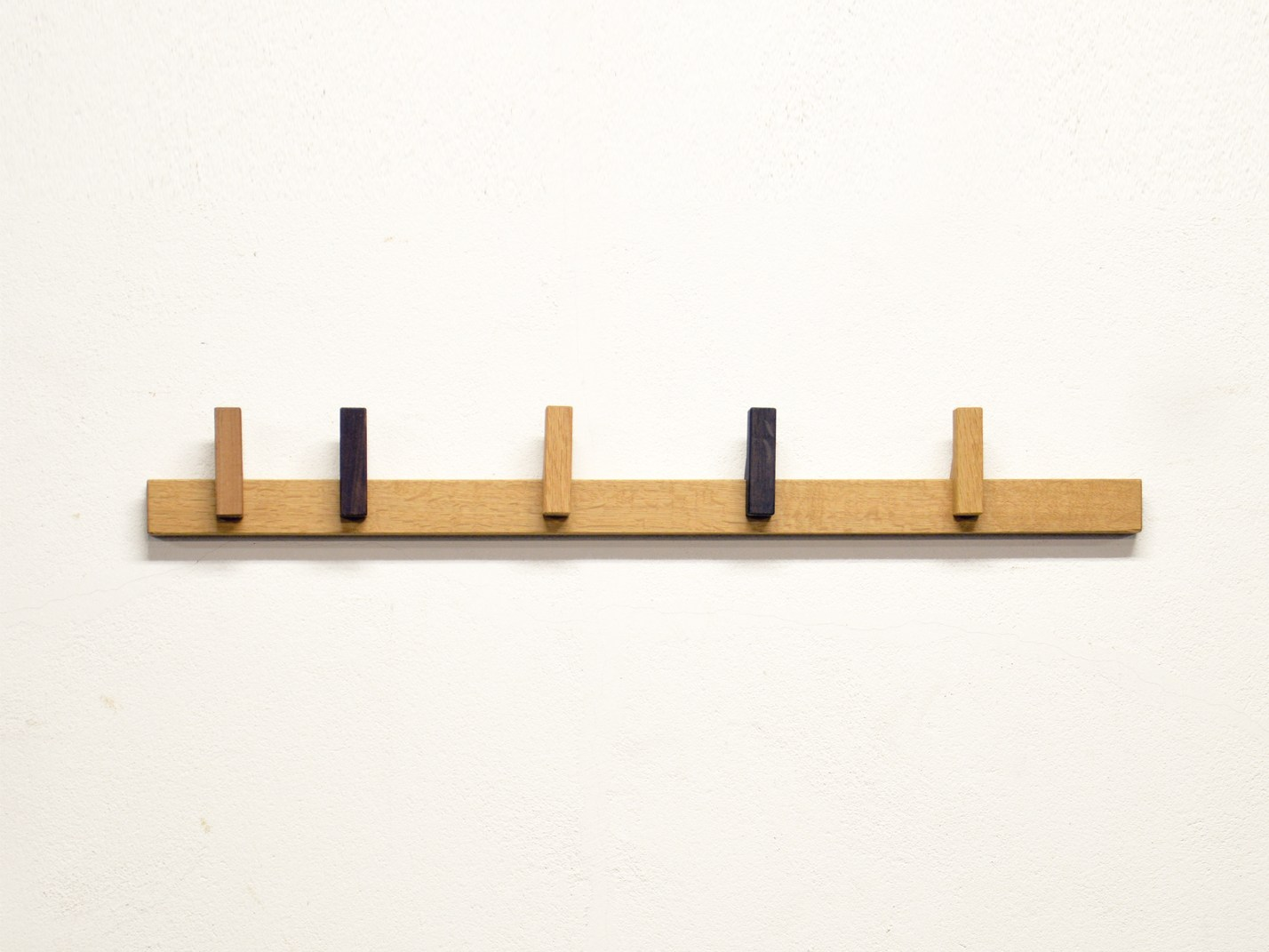 Wall mounted wooden coat rack COAT RACK by AGUSTAV