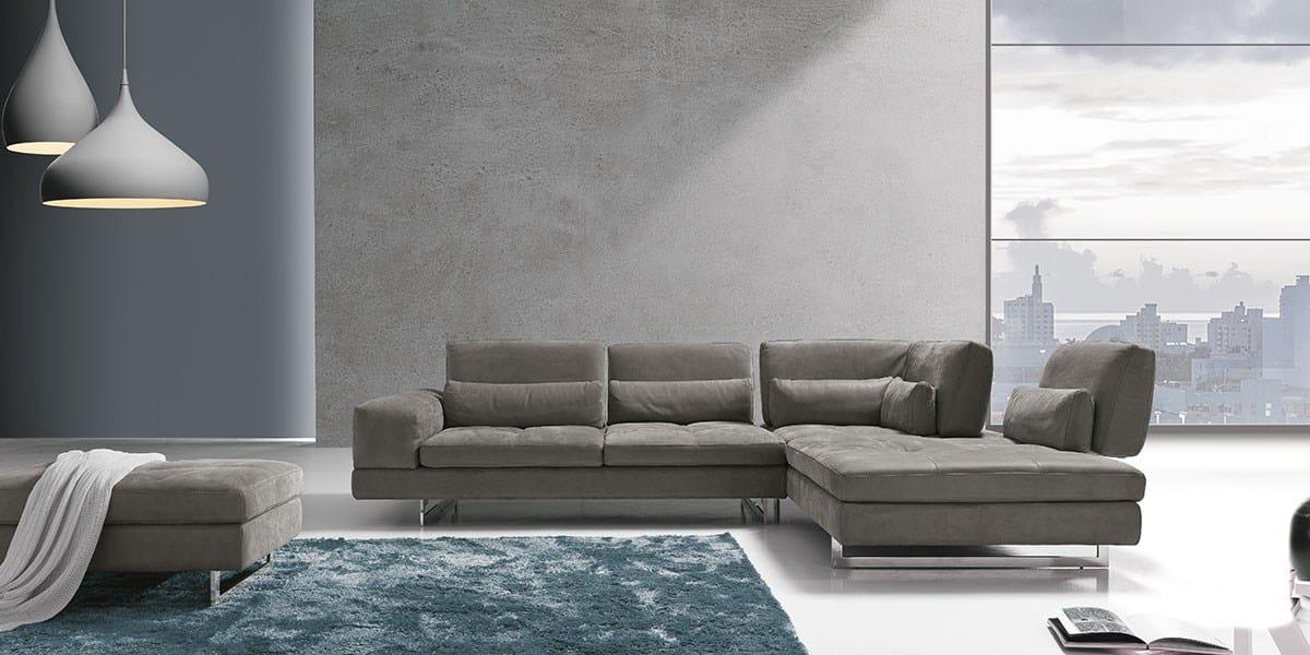 Divano componibile con chaise longue coffee by franco for Divani bellissimi moderni