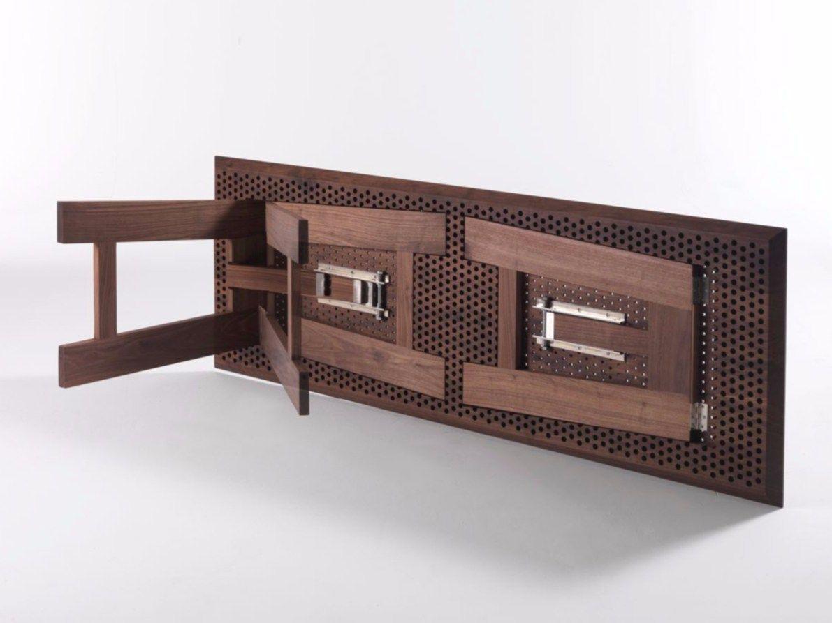 Colino tavolo by riva 1920 for Tavolo in legno pieghevole