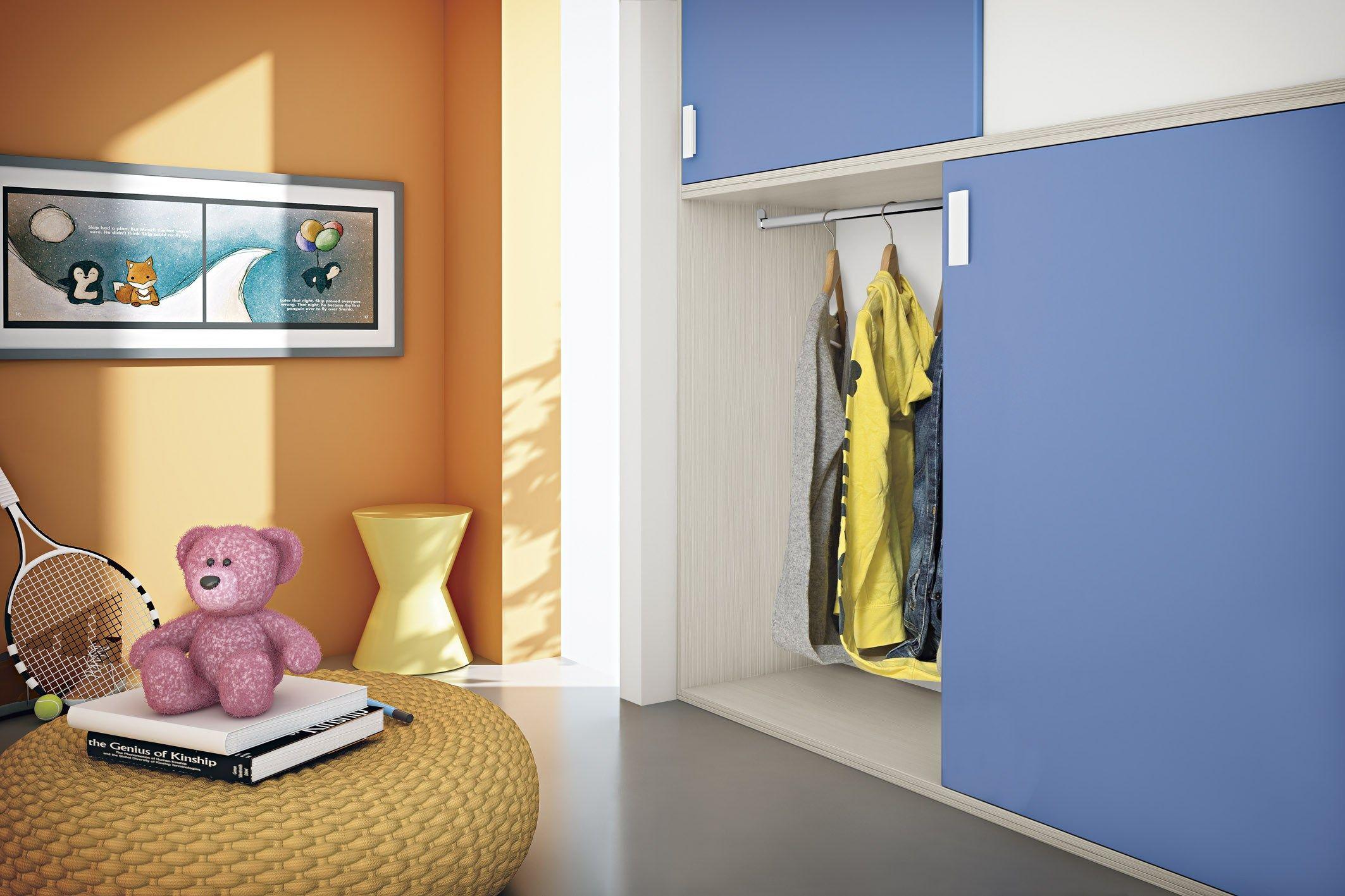 Cameretta per bambini composizione 7 by mottes mobili - Cameretta per bimbi ...