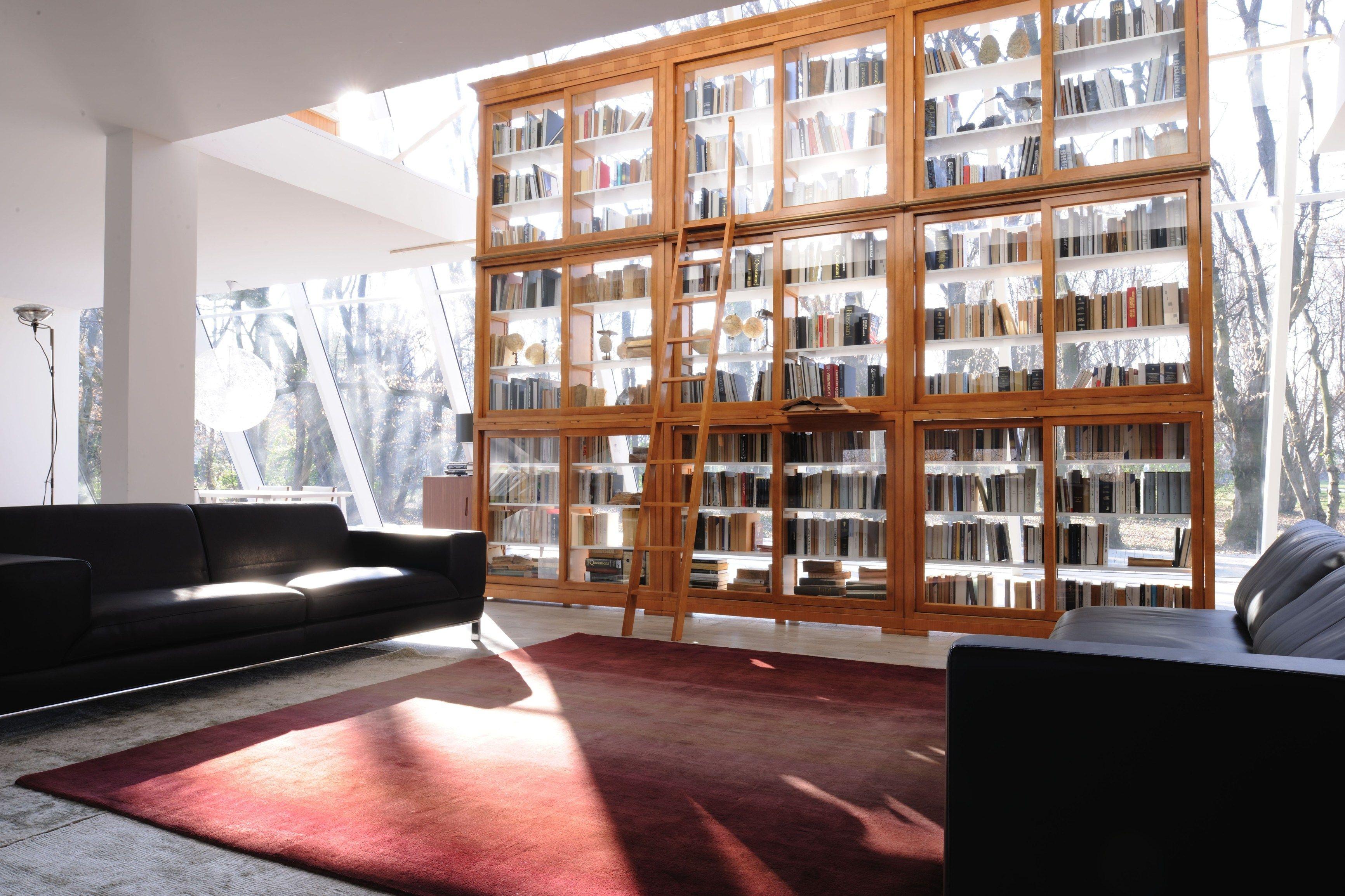 Modulo biedermeier libreria by morelato design centro ricerche maam - Morelato mobili ...