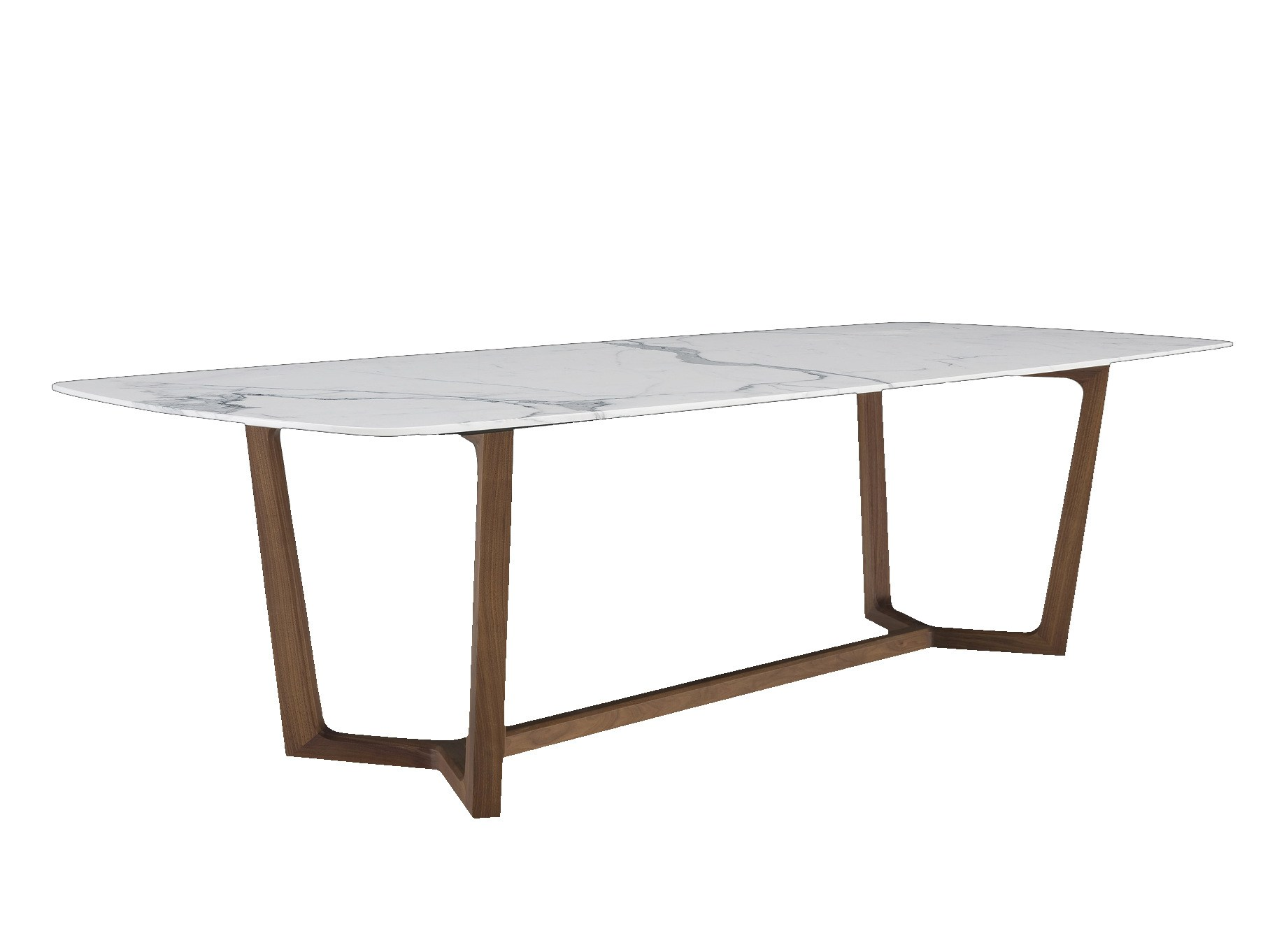 Concorde table rectangulaire by poliform design emmanuel gallina - Table marbre rectangulaire ...