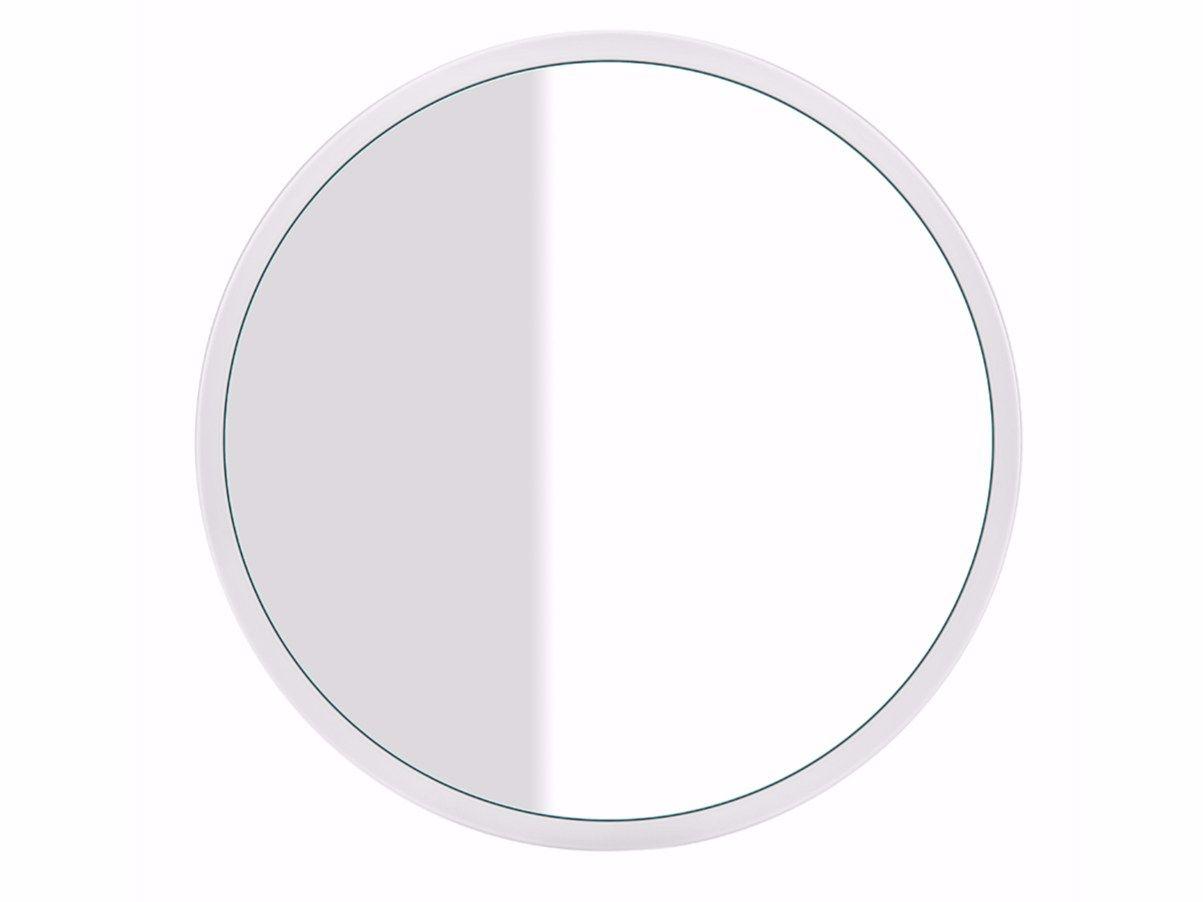 Specchio rotondo a parete cono specchi 45921 by gessi design prospero rasulo - Specchio bagno rotondo ...
