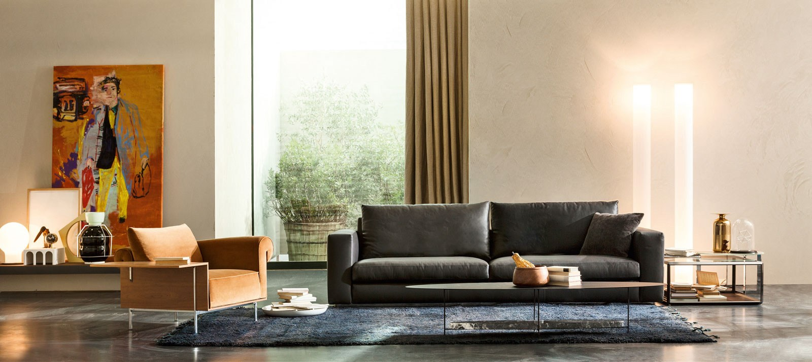 controra armchair by molteni c design ron gilad. Black Bedroom Furniture Sets. Home Design Ideas