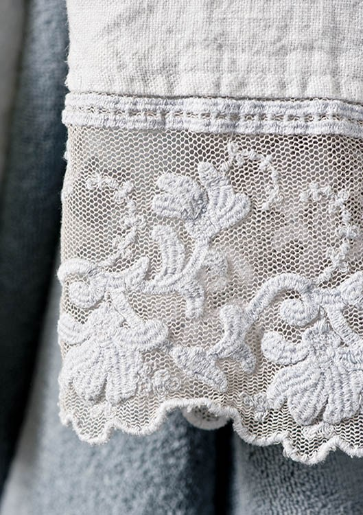 Coralli asciugamano by la fabbrica del lino by bergianti pagliani - La fabbrica del lino letto ...