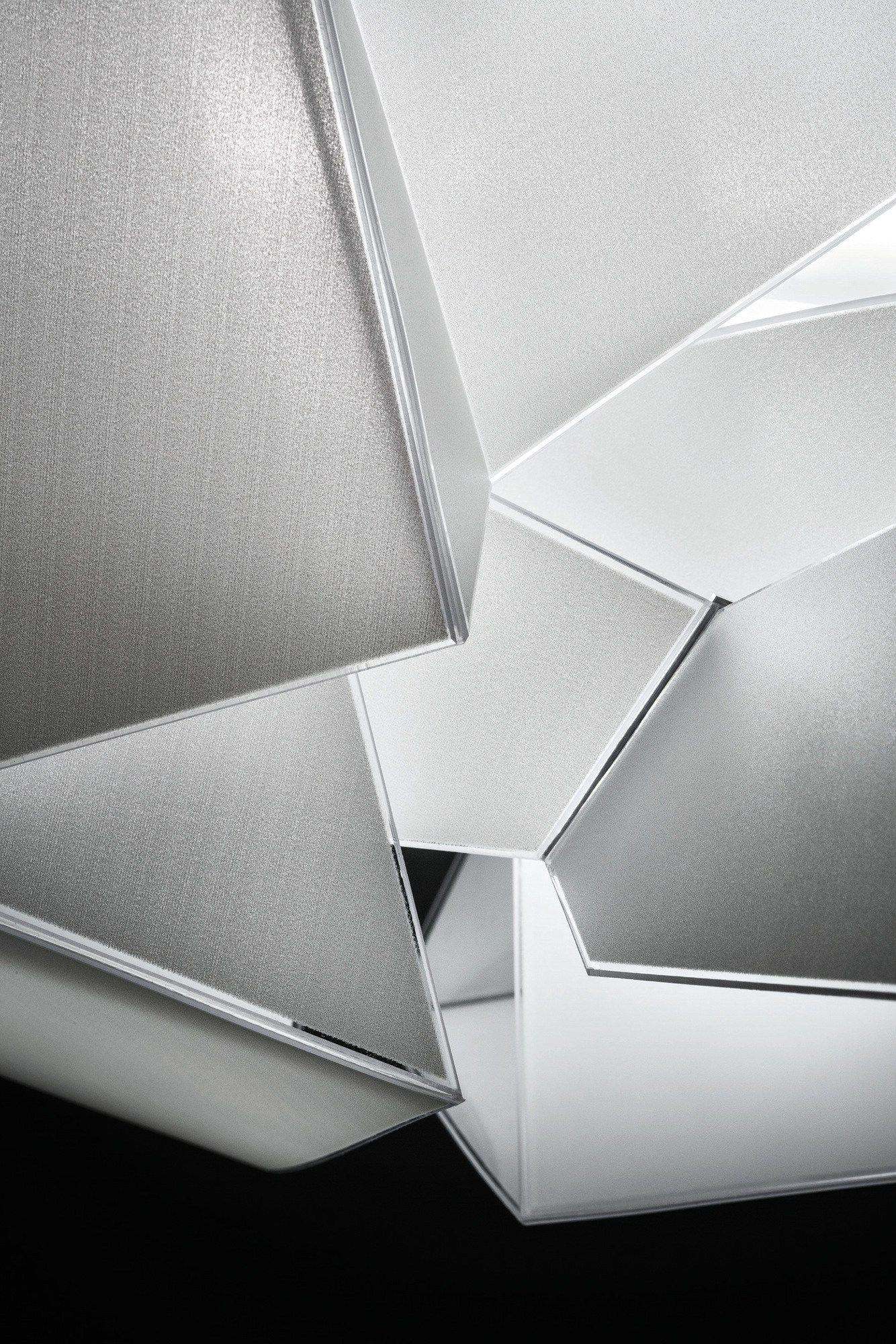 LED Cristalflex® pendant lamp CORDOBA By Slamp design Daniel Libeskind