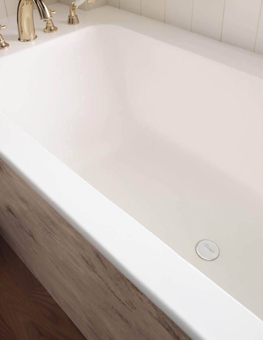 Vasca da bagno rettangolare in corian da incasso corian - Corian de dupont ...