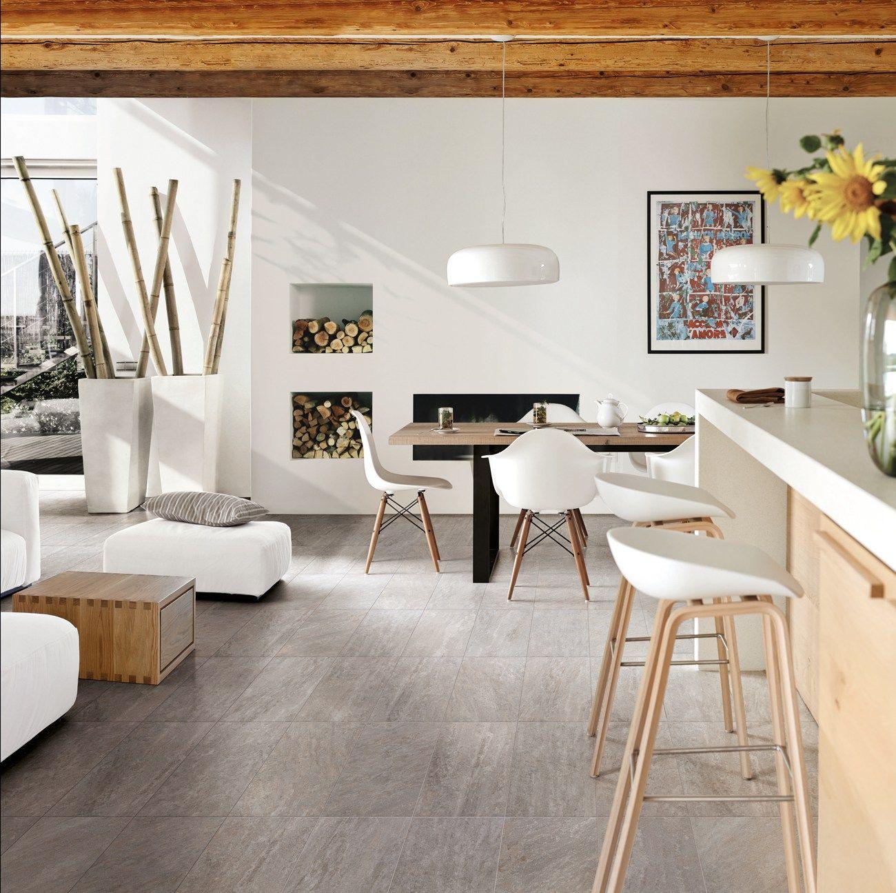 Pavimento in gres porcellanato effetto pietra per interni for Ceramiche gres porcellanato