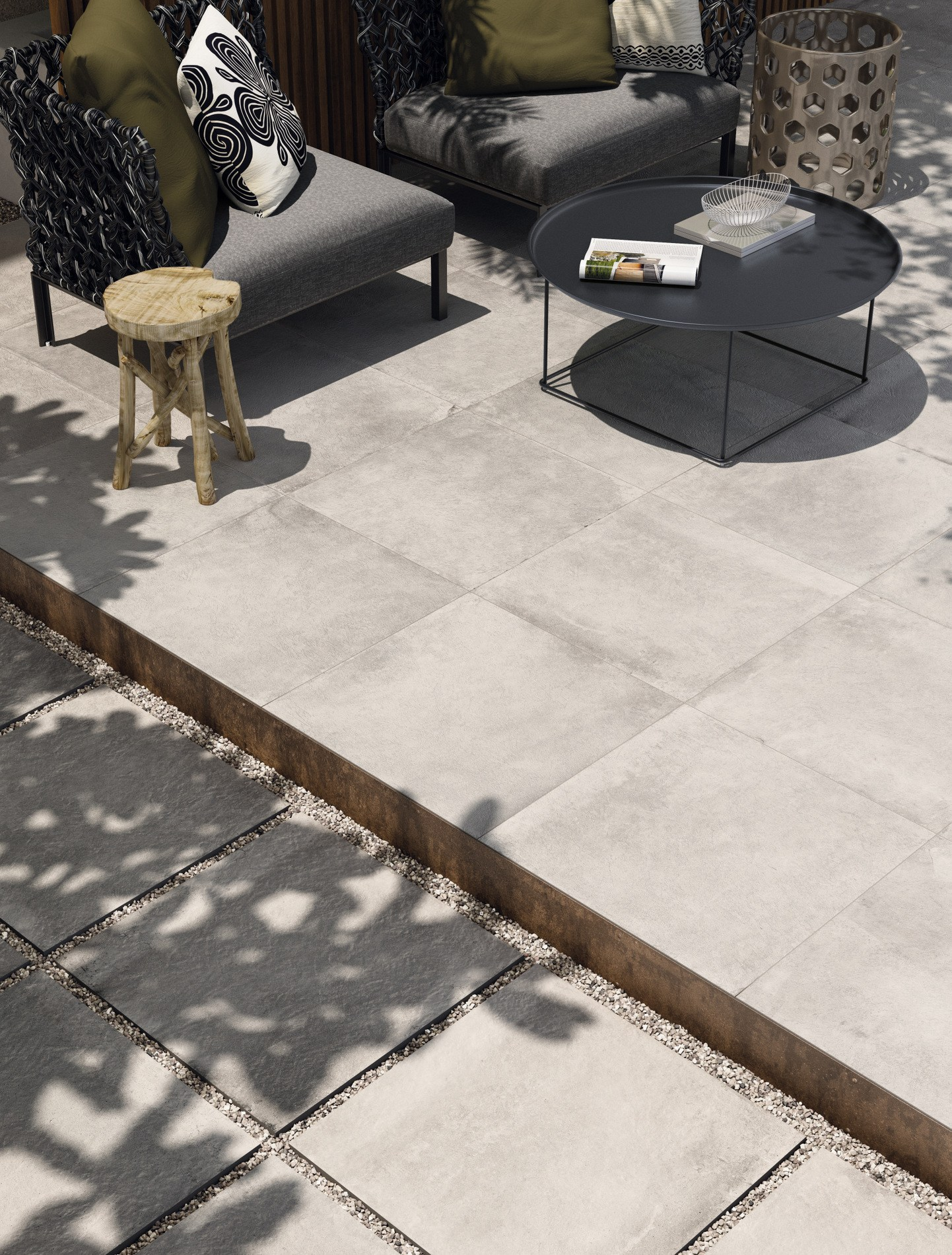 Pavimento in gres porcellanato effetto cotto COTTOFAENZA by ...