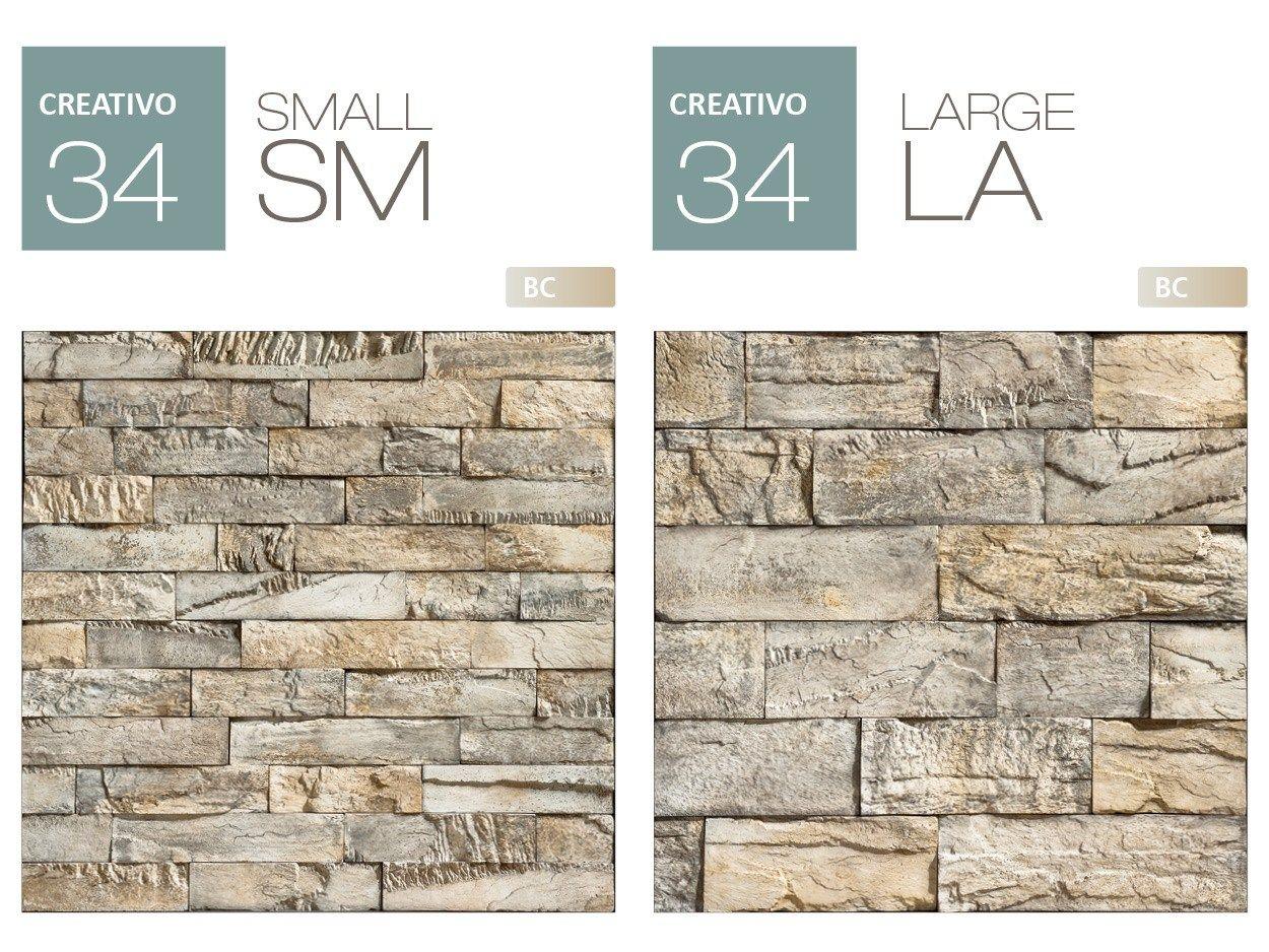 Revestimiento de fachada piedra artificial creativo p34 by - Placas de piedra artificial ...