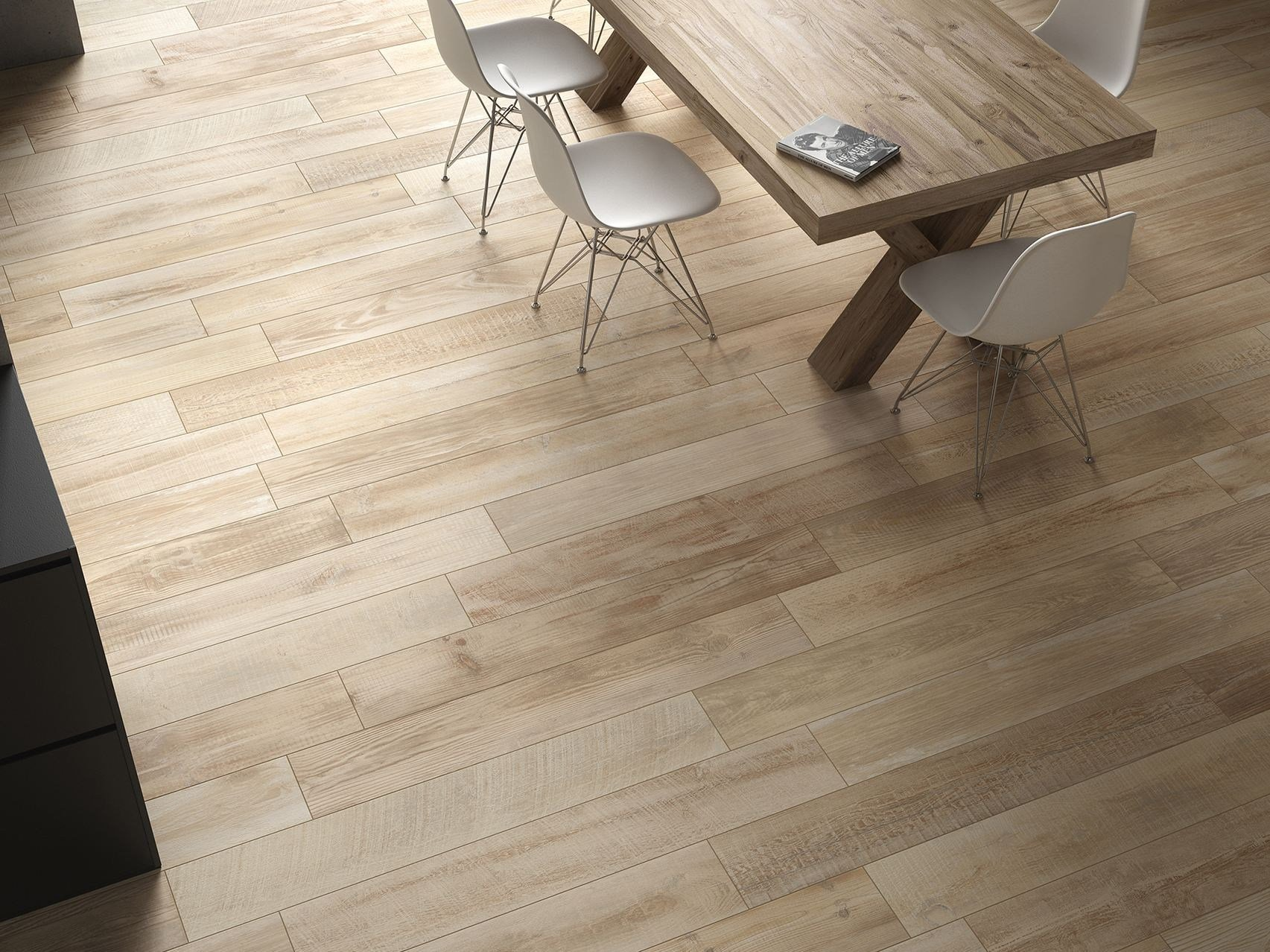 Crosscut Wood Flooring : Cross wood flooring collection by panaria ceramica