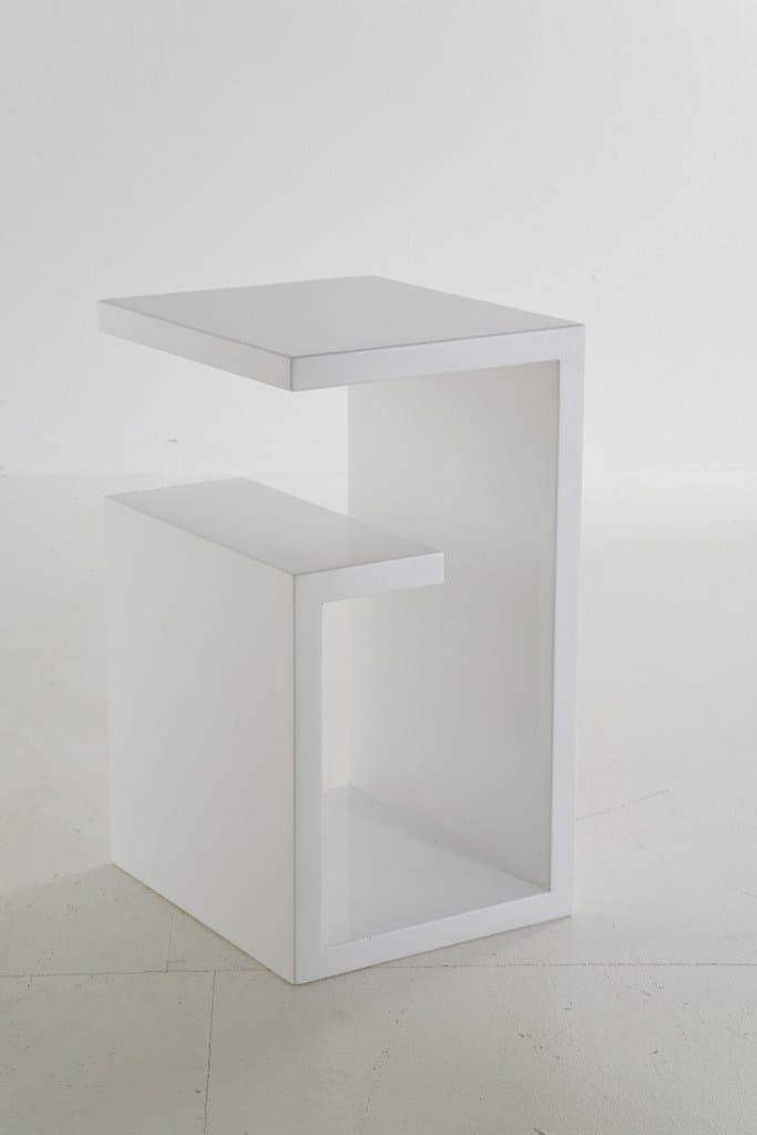 tavolino in mdf con portariviste cube meander by kare design. Black Bedroom Furniture Sets. Home Design Ideas
