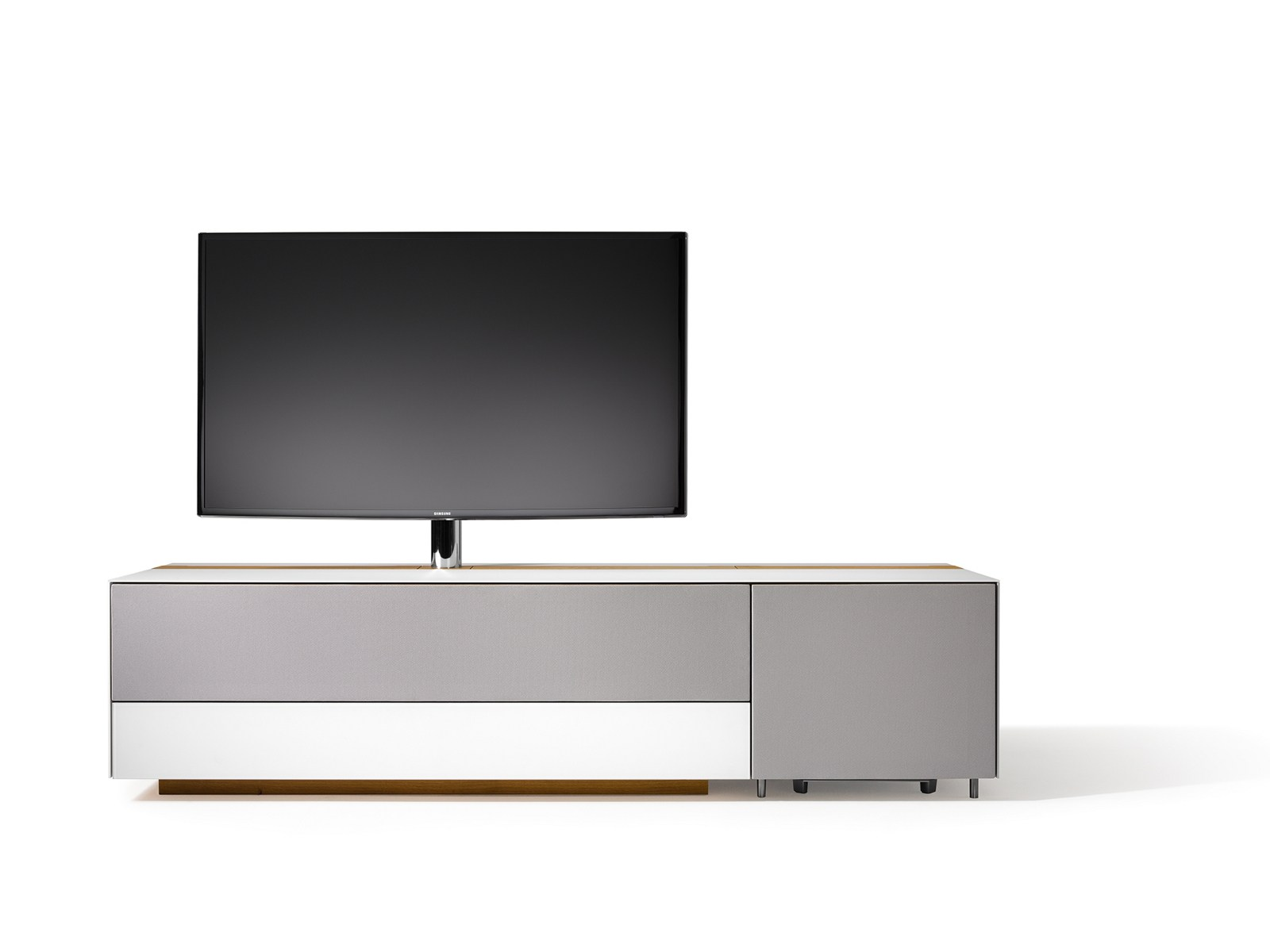 cubus pure low tv cabinet by team 7 nat rlich wohnen. Black Bedroom Furniture Sets. Home Design Ideas
