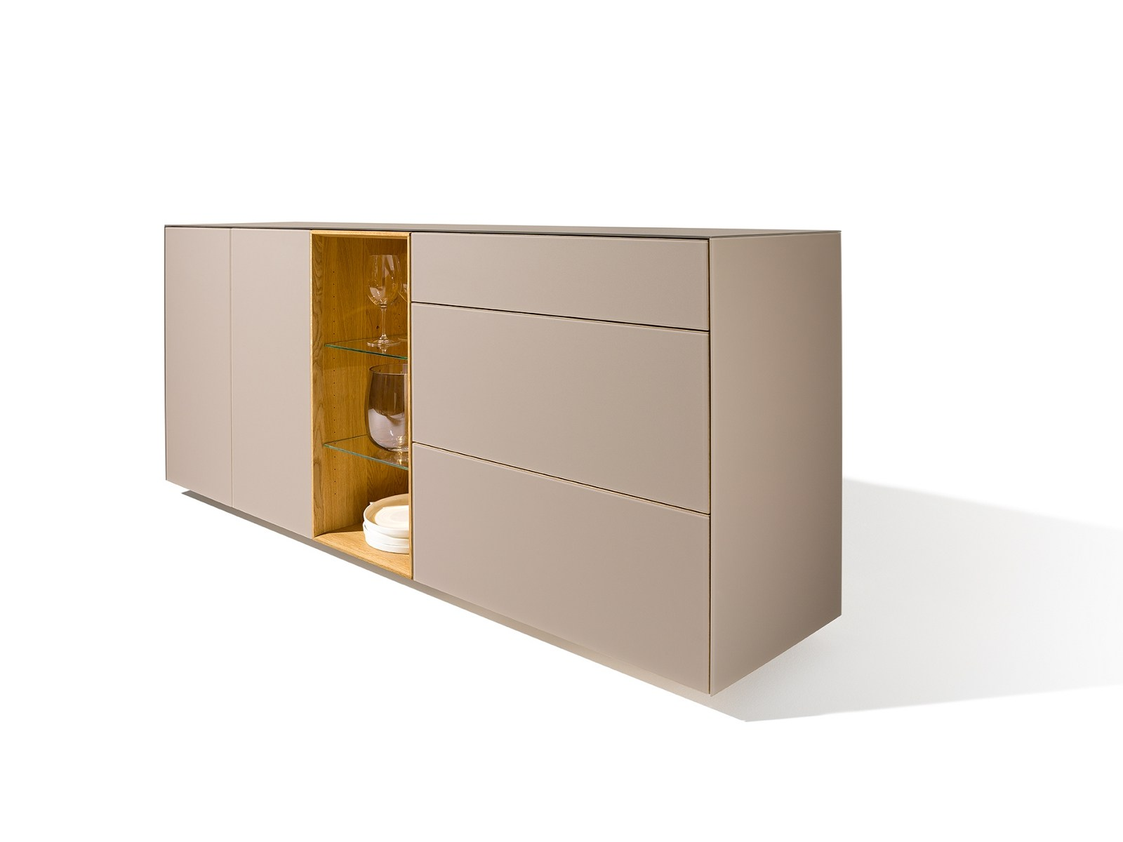 cubus pure sideboard mit schubladen by team 7 nat rlich. Black Bedroom Furniture Sets. Home Design Ideas