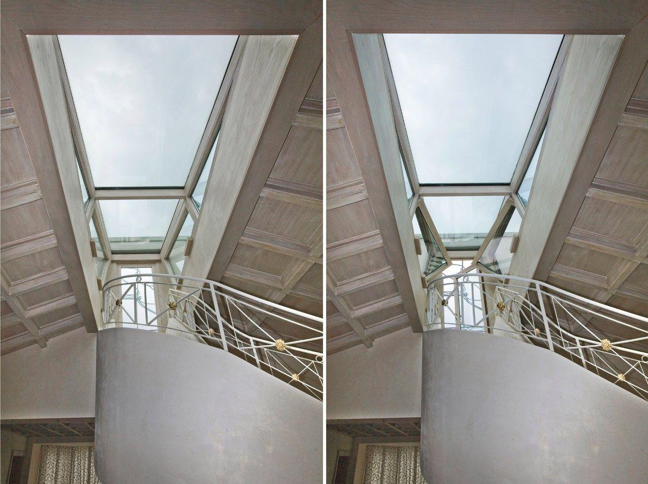 dachfenster lichtband skylight by capoferri serramenti. Black Bedroom Furniture Sets. Home Design Ideas