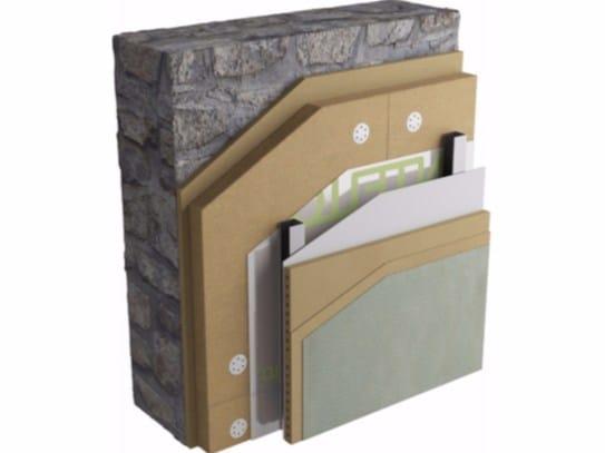 Sistema di coibentazione interna a secco delle pareti parete creasan by naturalia bau - Coibentazione parete interna ...