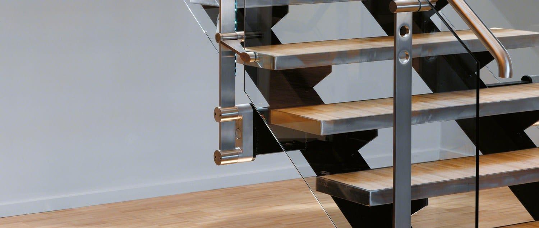 d line blok fixing by q railing italia. Black Bedroom Furniture Sets. Home Design Ideas