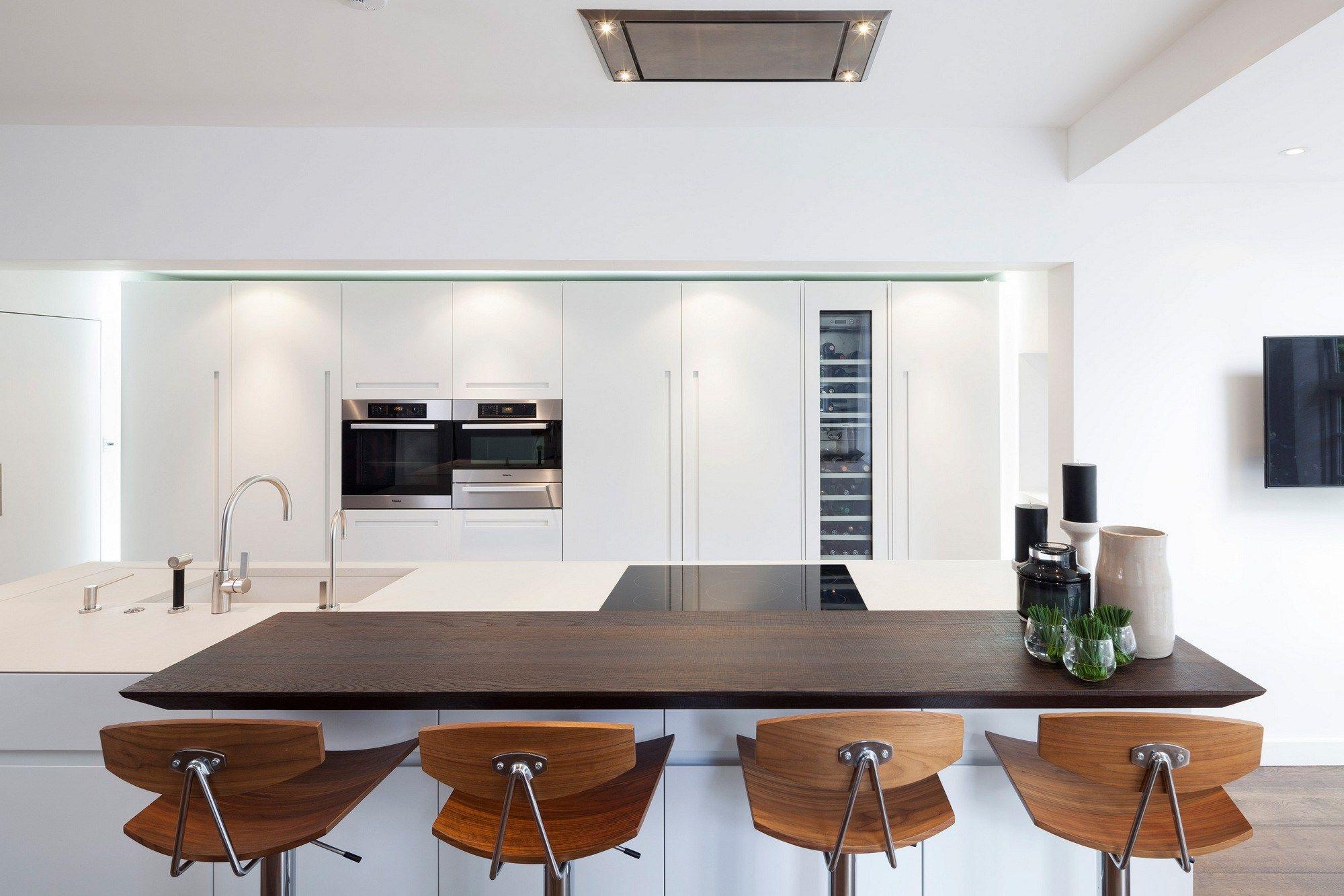 Immagini cucine con isola cucina moderna con penisola for Cucine pinterest