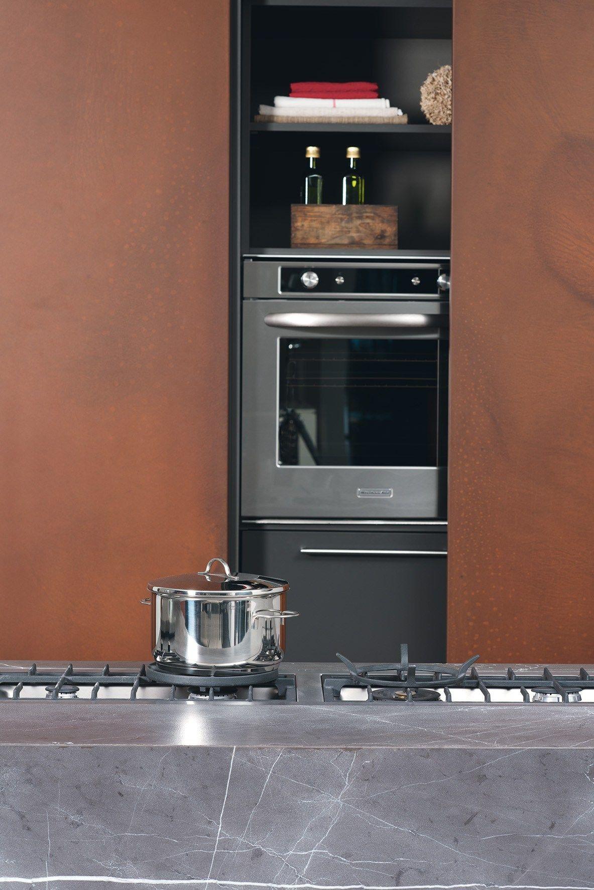 D90 cucina senza maniglie by tm italia cucine - Cucina senza maniglie ...