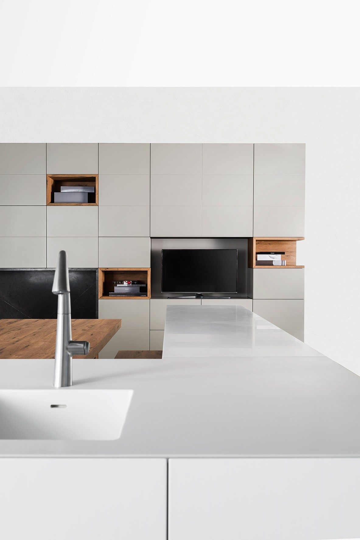 Tm Italia Cucine : Storage wall by tm italia cucine